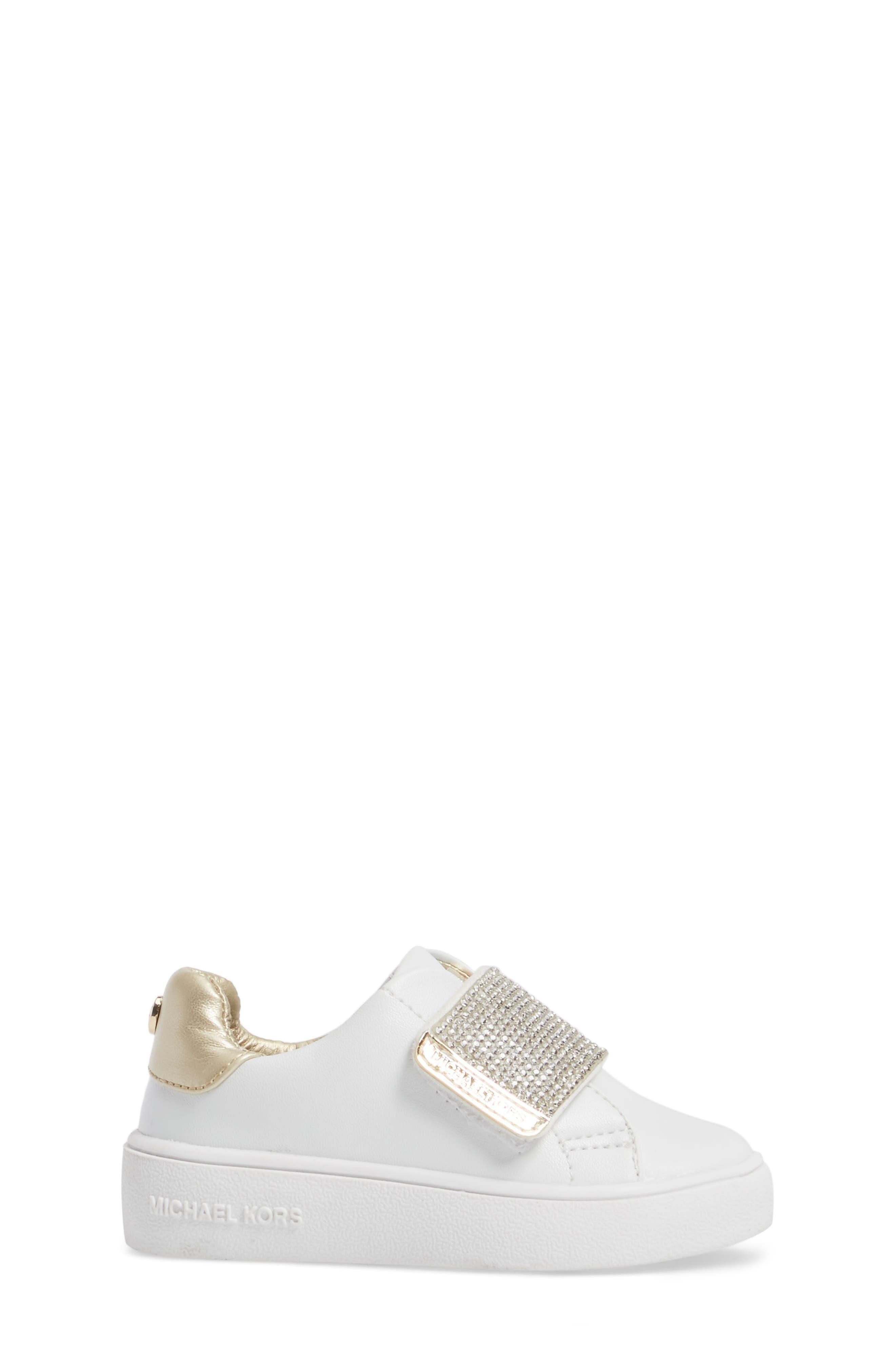 Alternate Image 3  - MICHAEL Michael Kors Ivy Candy Sneaker (Walker, Toddler, Little Kid & Big Kid)