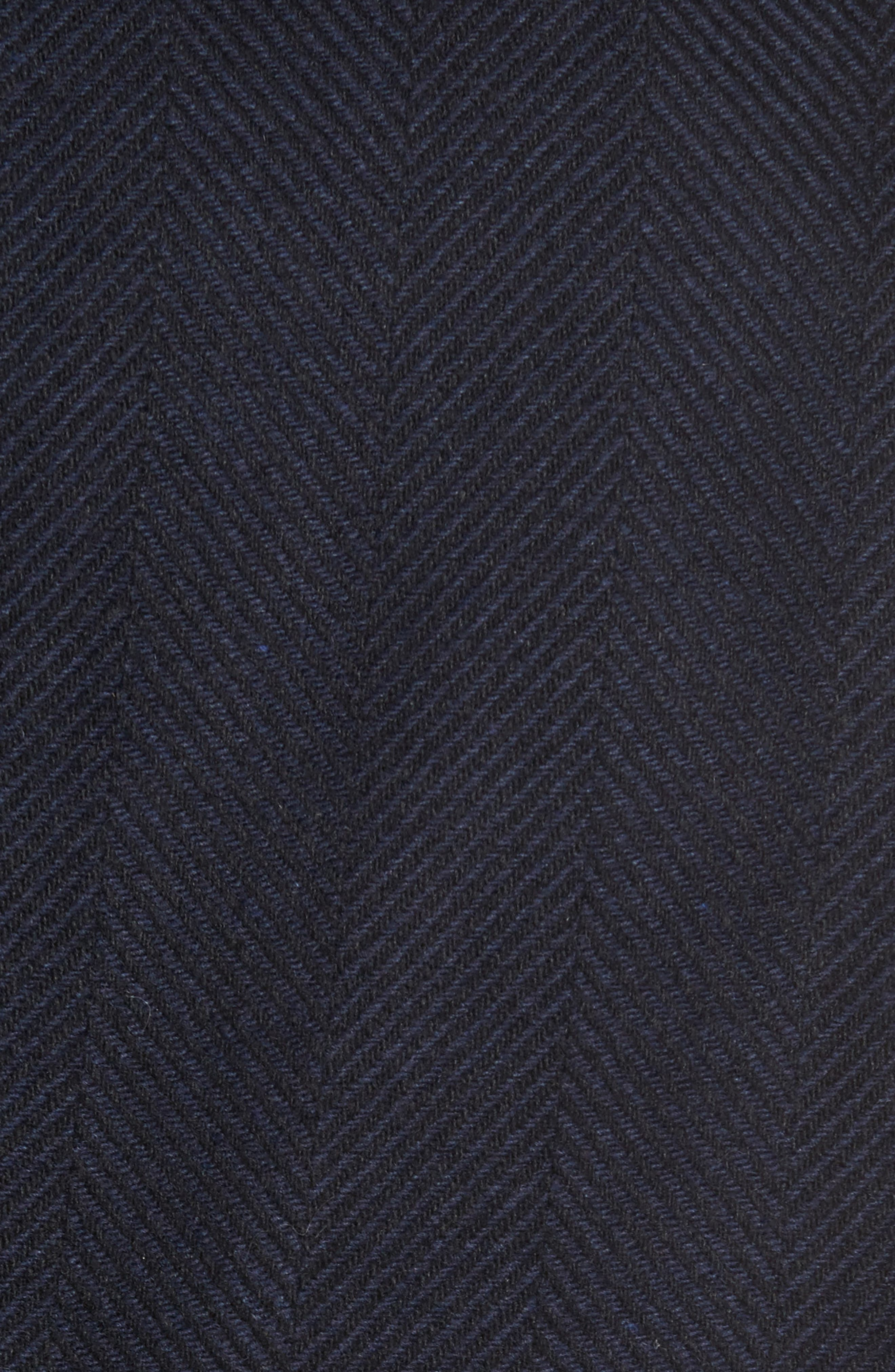 Bower Herringbone Wool Blend Topcoat,                             Alternate thumbnail 5, color,                             Liberty Multi