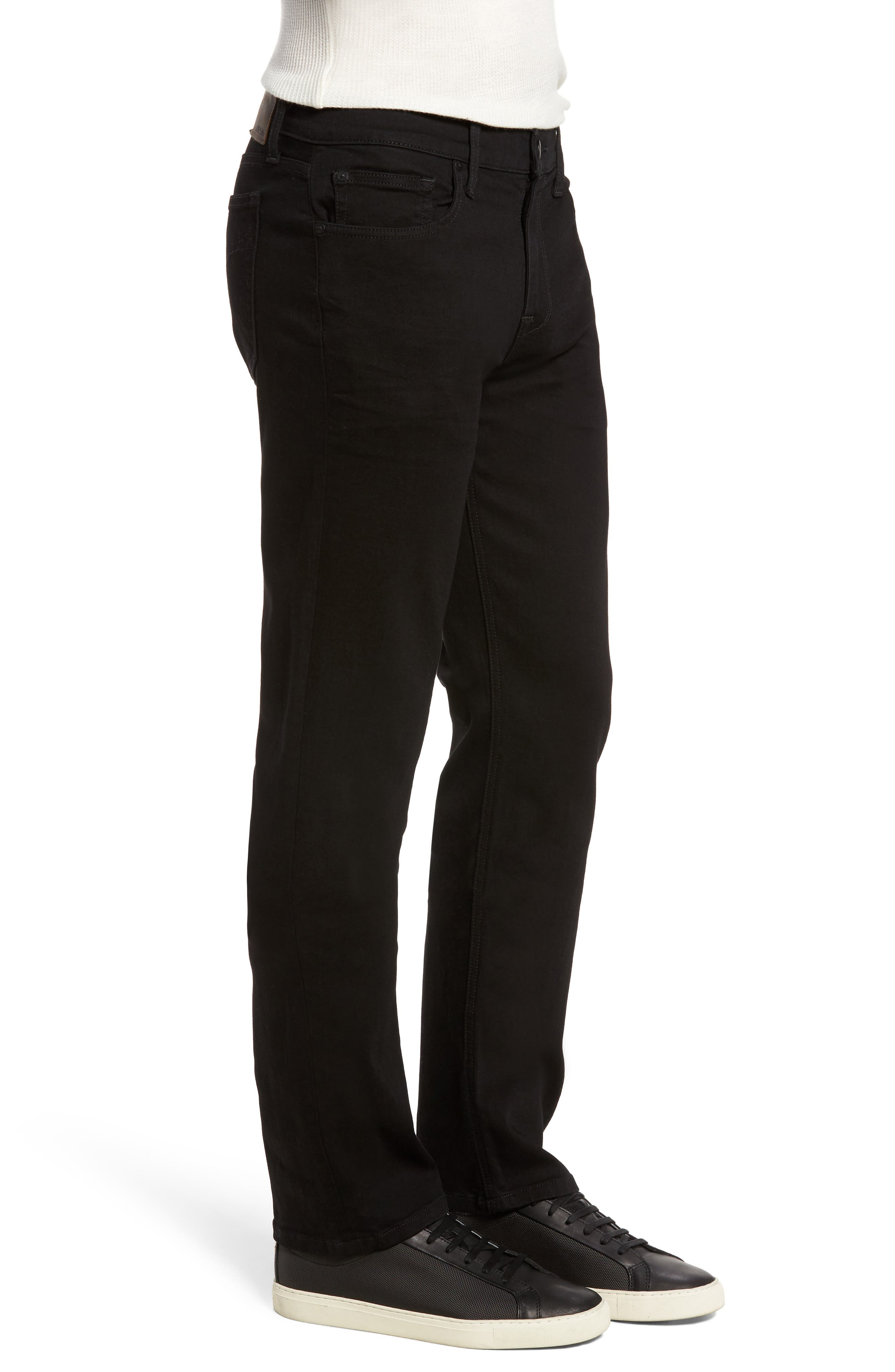 Classic Straight Fit Jeans,                             Alternate thumbnail 3, color,                             Griffith