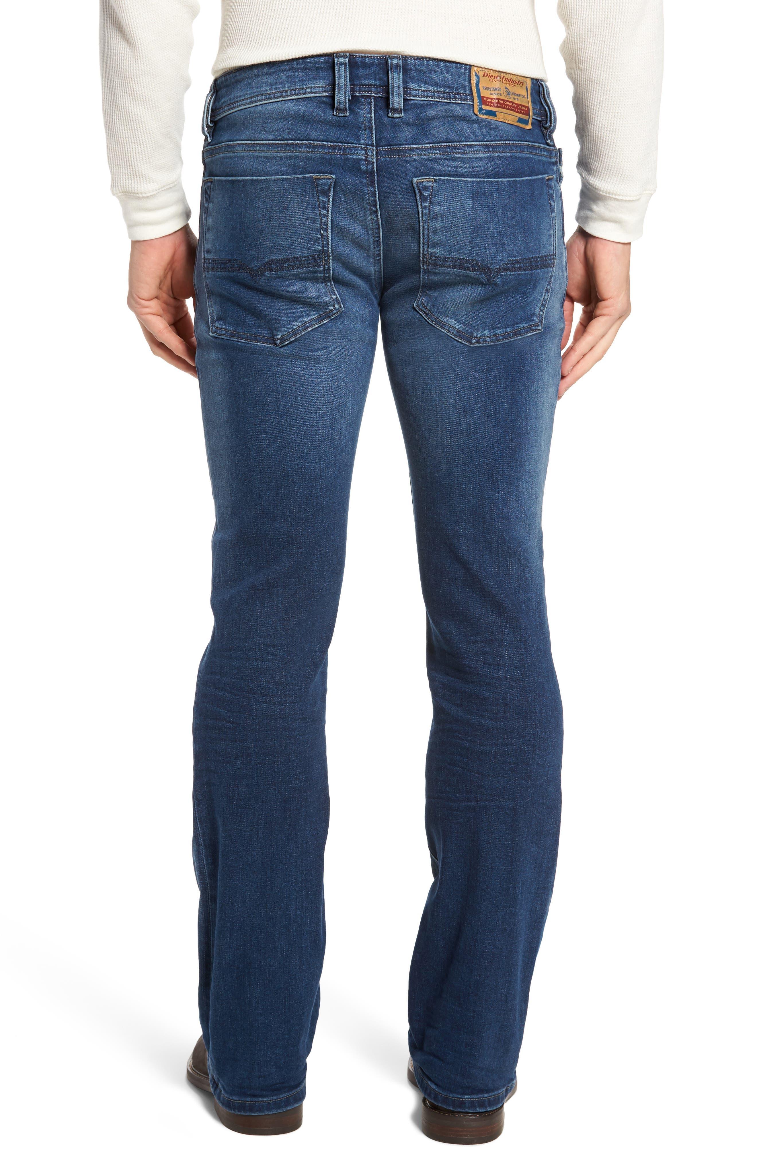 Alternate Image 2  - DIESEL® Zatiny Bootcut Jeans (84HV)