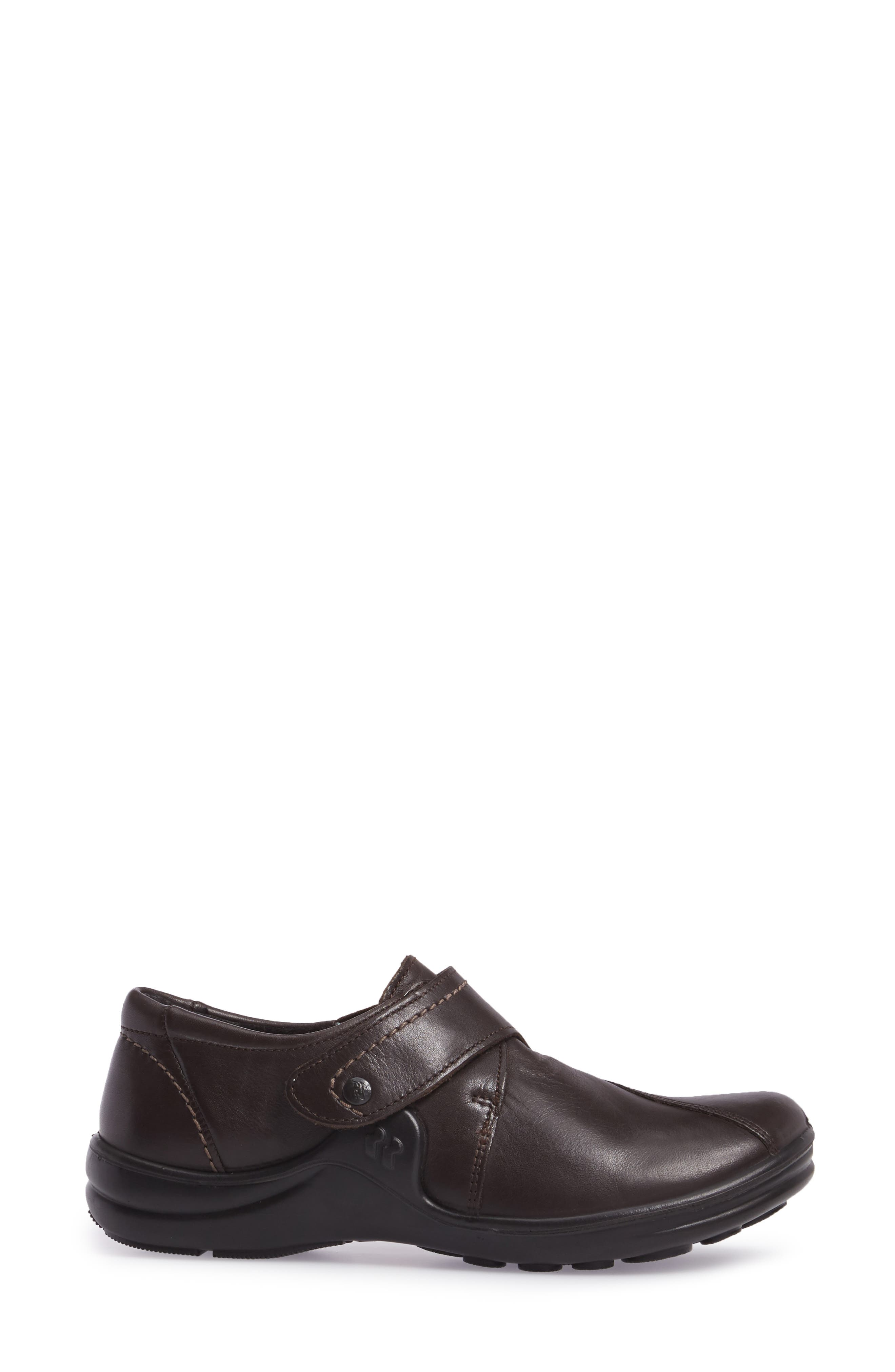 'Maddy 04' Slip-On Flat,                             Alternate thumbnail 3, color,                             Moro Leather