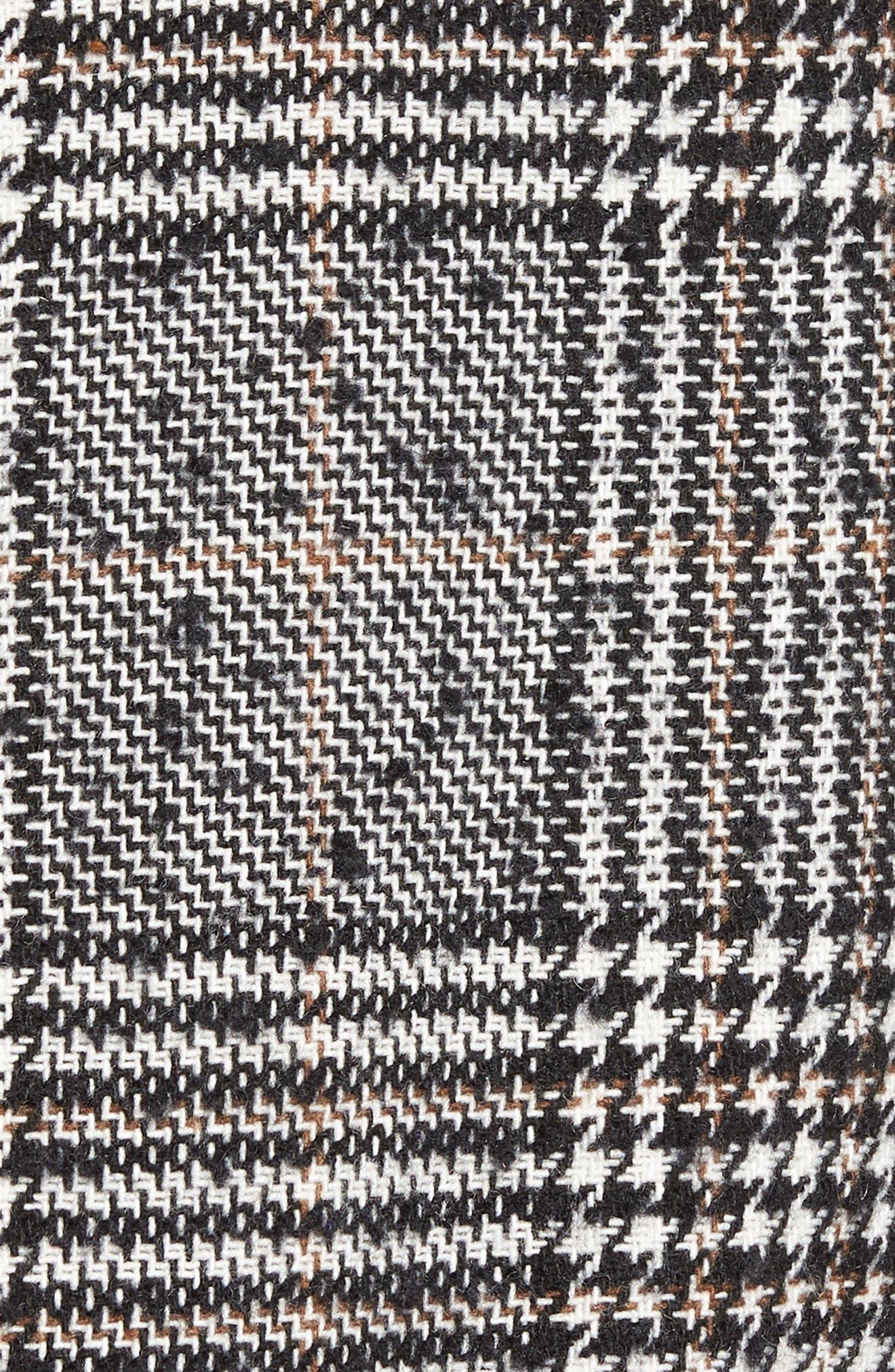 Alternate Image 5  - Pleione Ruffle Plaid Jacket