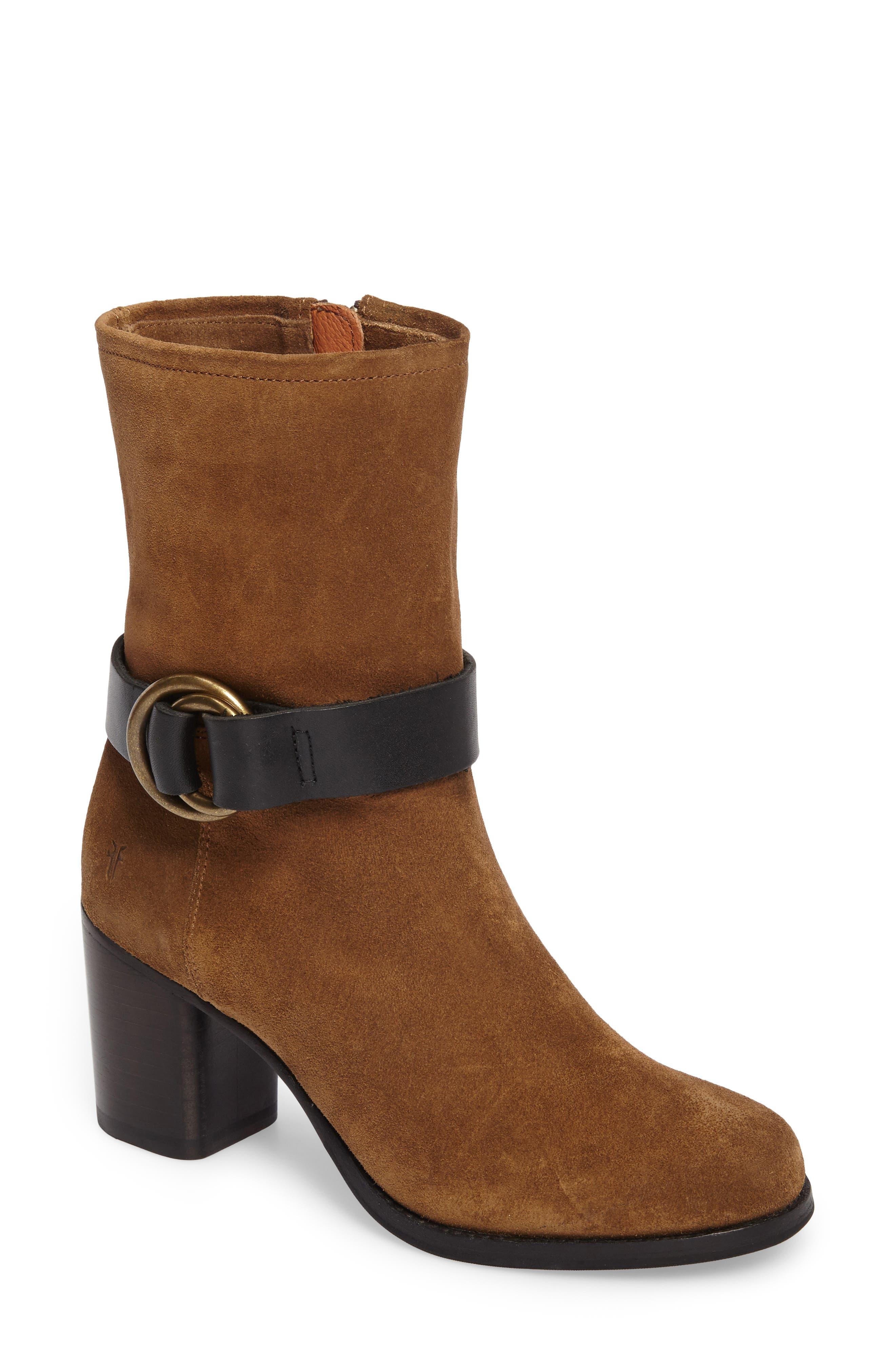 Alternate Image 1 Selected - Frye Addie Harness Boot (Women)