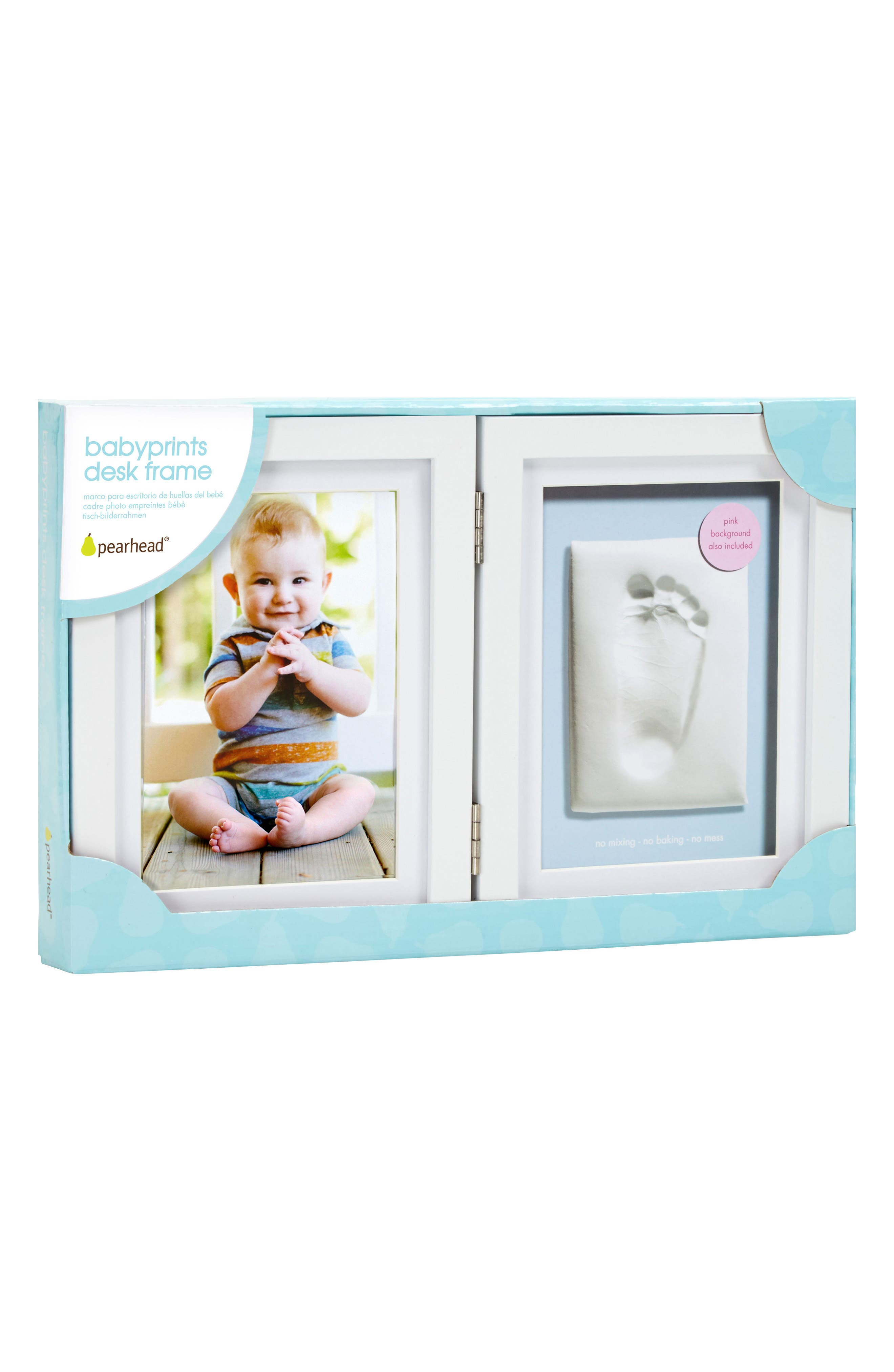 Alternate Image 1 Selected - Pearhead Babyprints Desk Frame