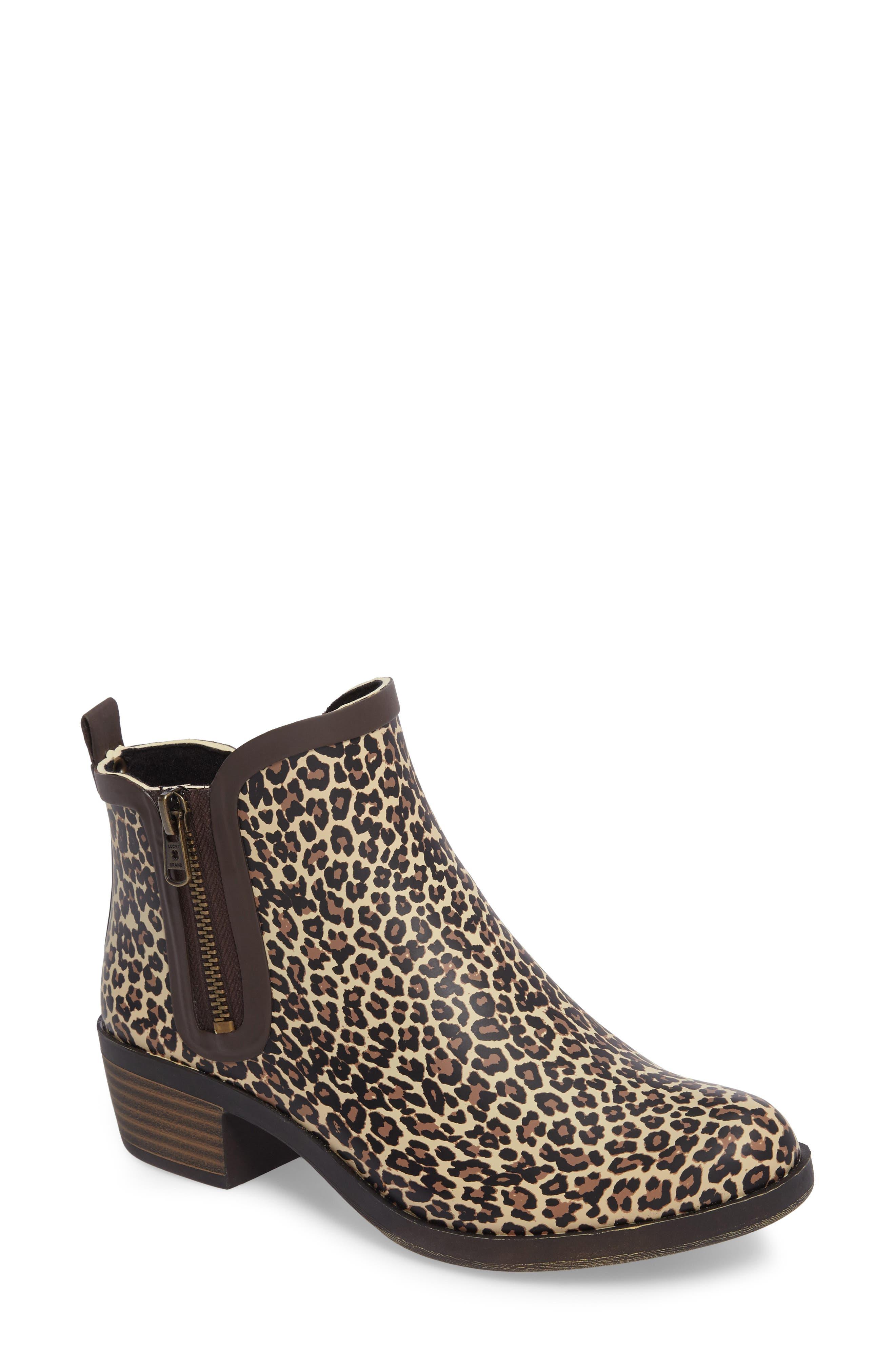 Alternate Image 1 Selected - Lucky Brand Baselrain Rain Boot (Women)