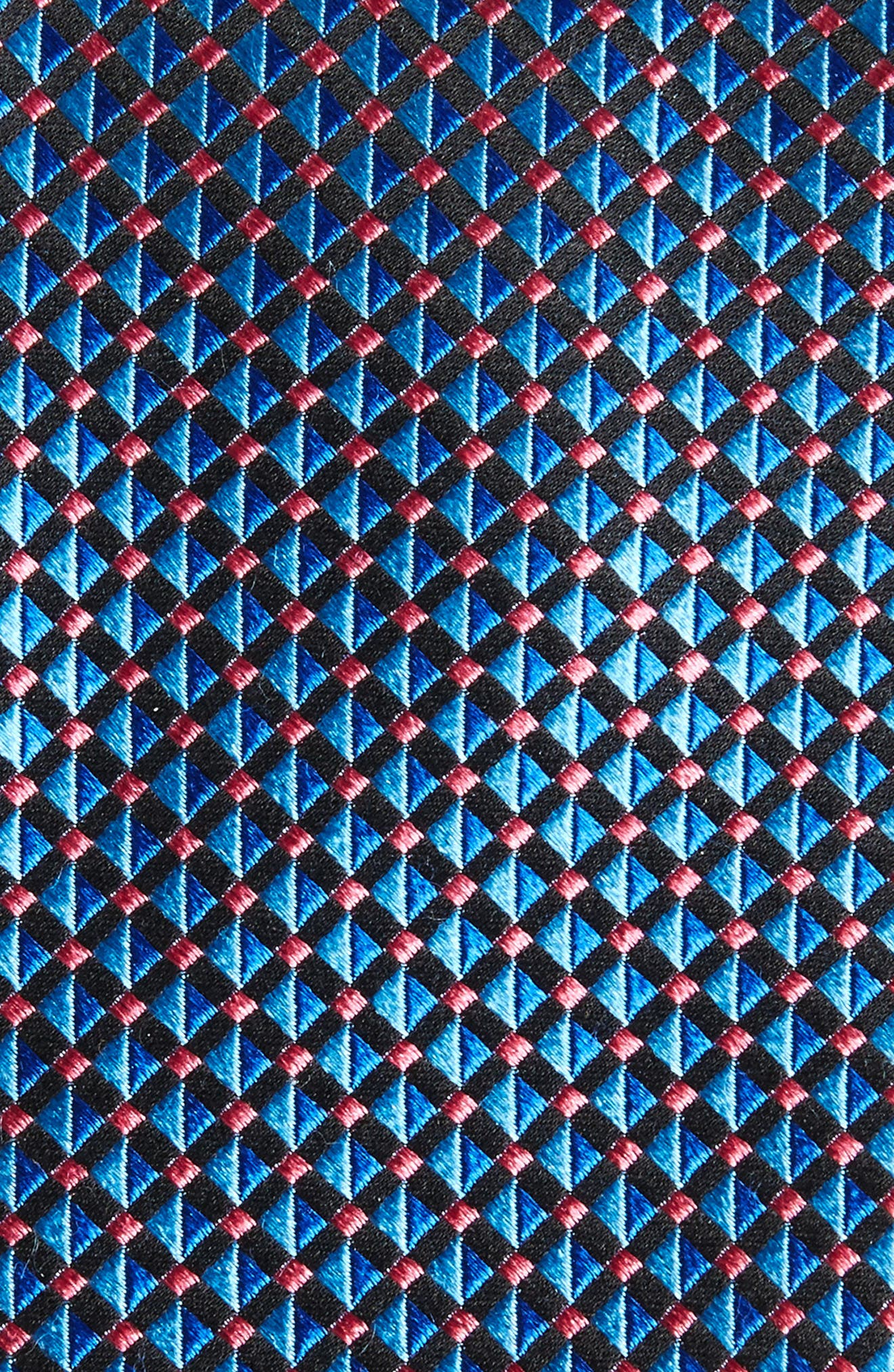 Alternate Image 2  - Nordstrom Men's Shop Geometric Silk Tie (X-Long)
