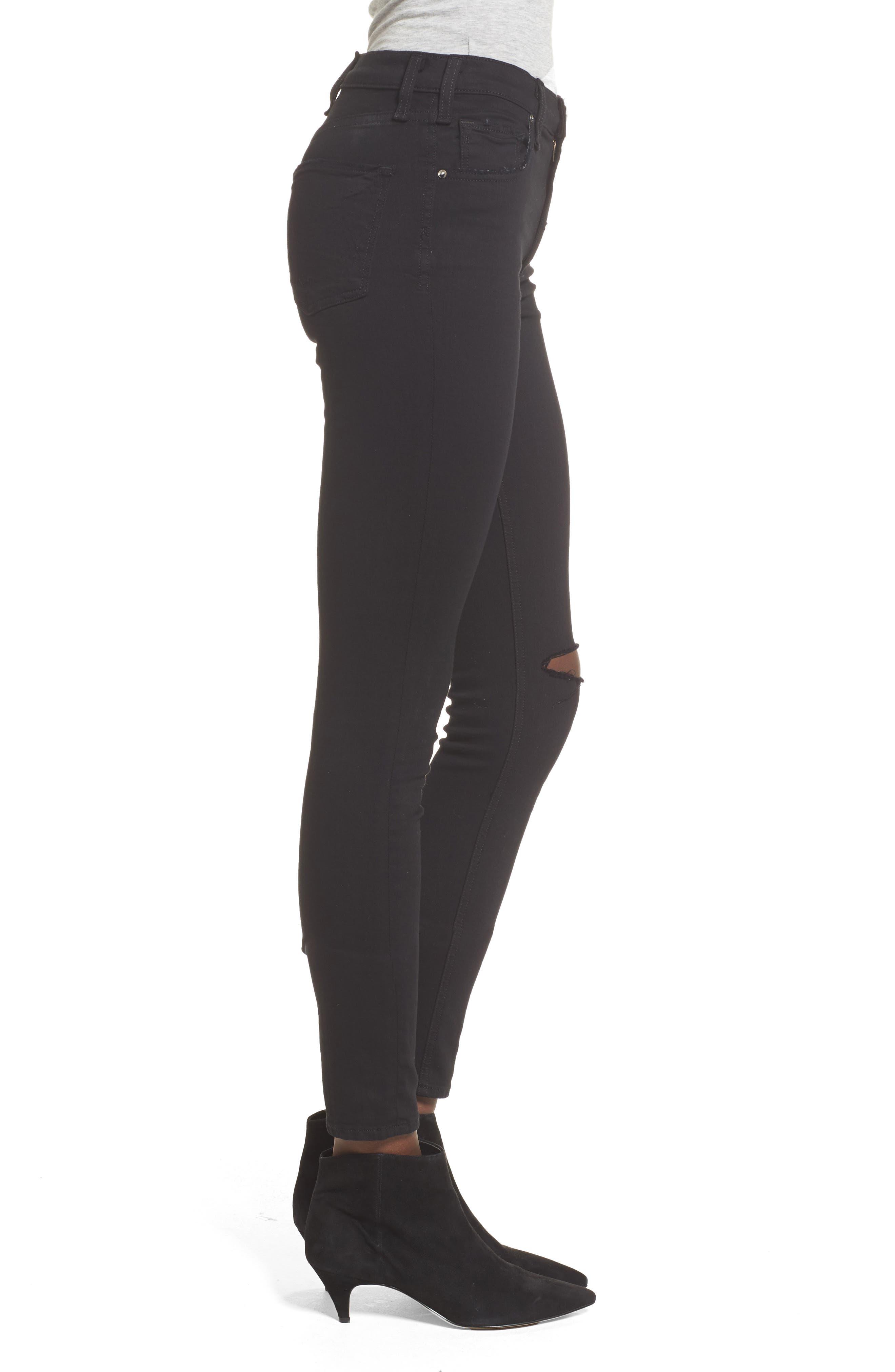 Alternate Image 3  - McGuire Newton High Waist Ankle Skinny Jeans (Reposado)