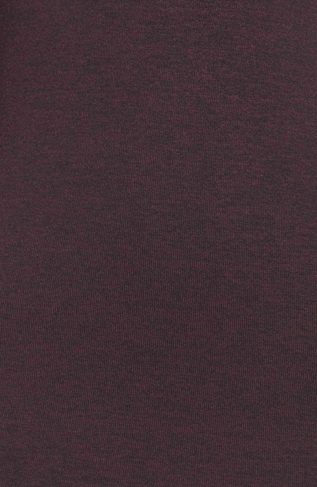 Sweeter Sweater Dress,                             Alternate thumbnail 5, color,                             Deepest Purple