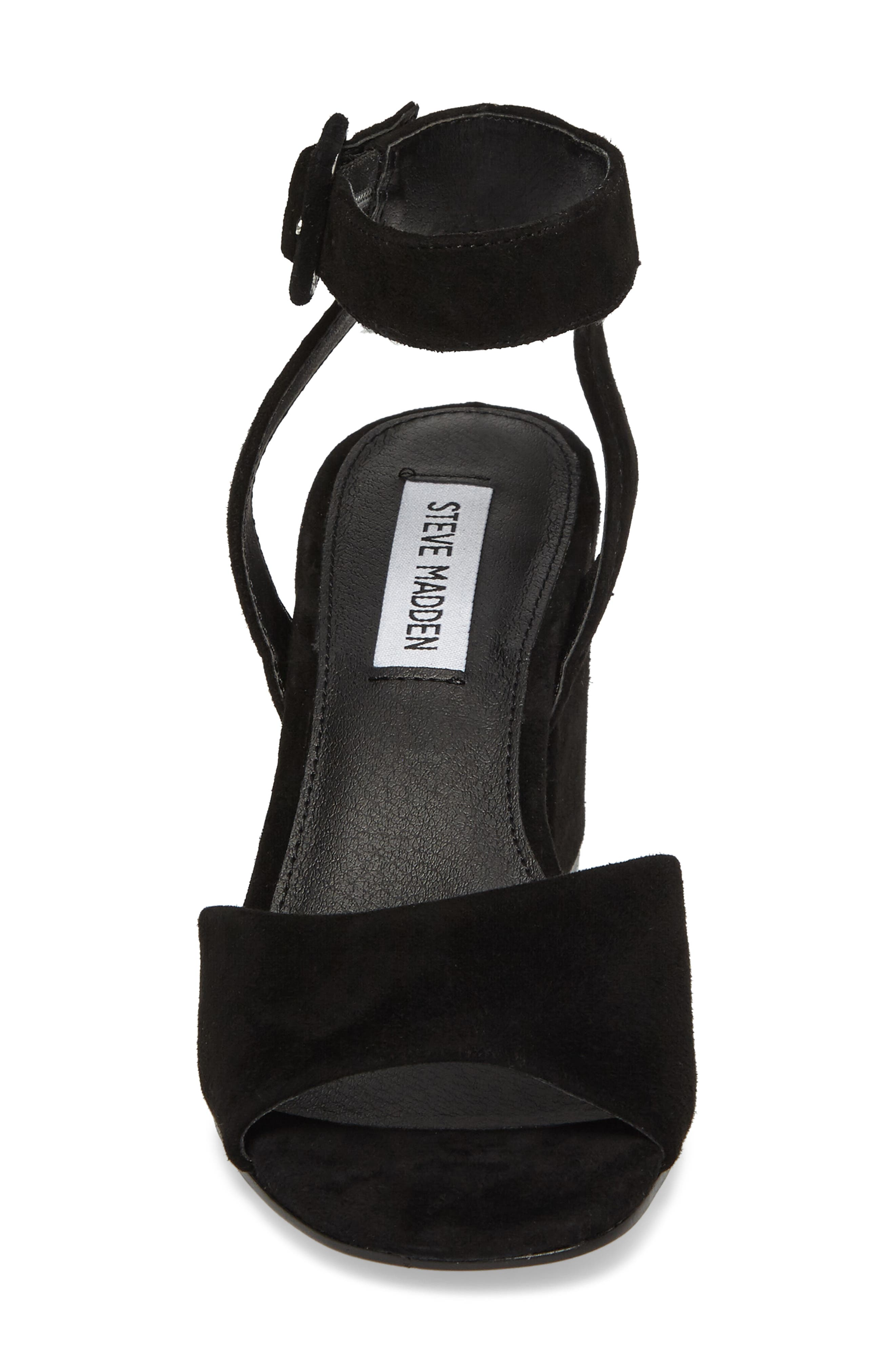 Debbie Sandal,                             Alternate thumbnail 4, color,                             Black Suede