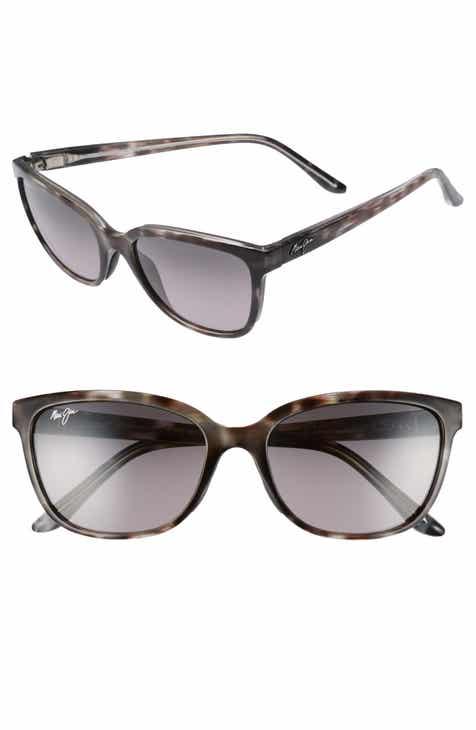 9f8b8061b27 Maui Jim Honi 54mm Polarized Cat Eye Sunglasses