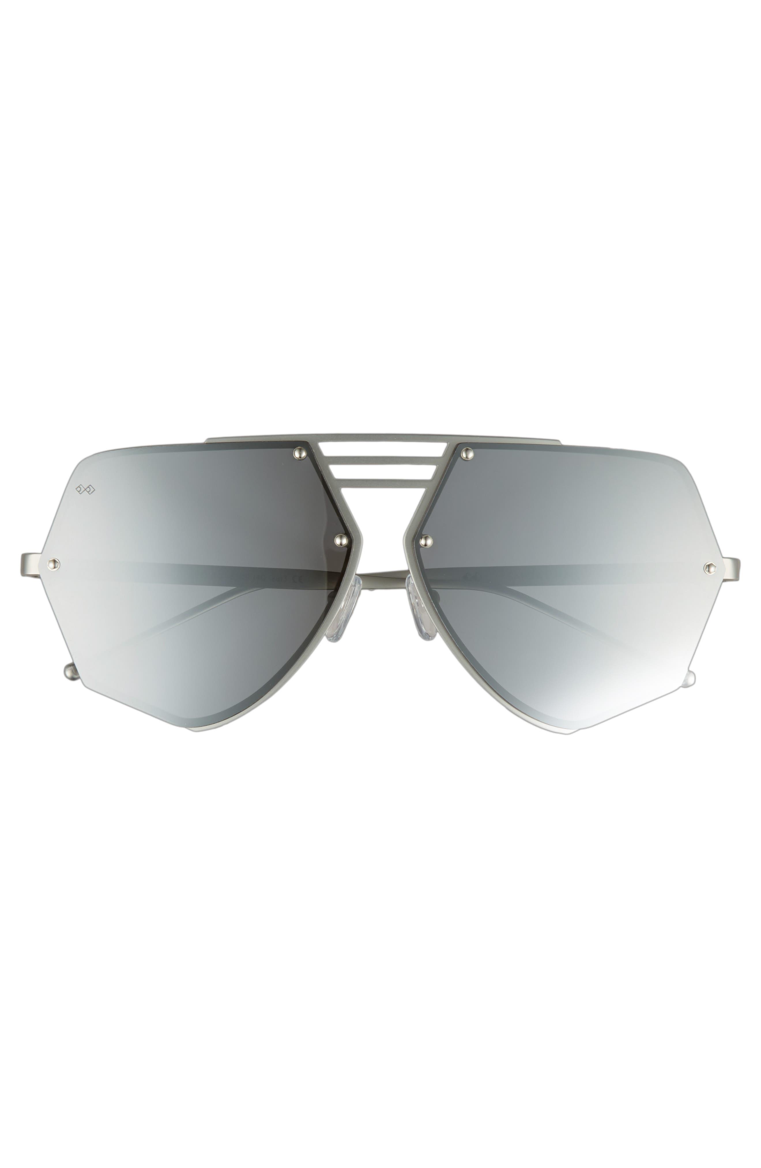 Alternate Image 2  - Smoke x Mirrors Geo VIII 63mm Sunglasses
