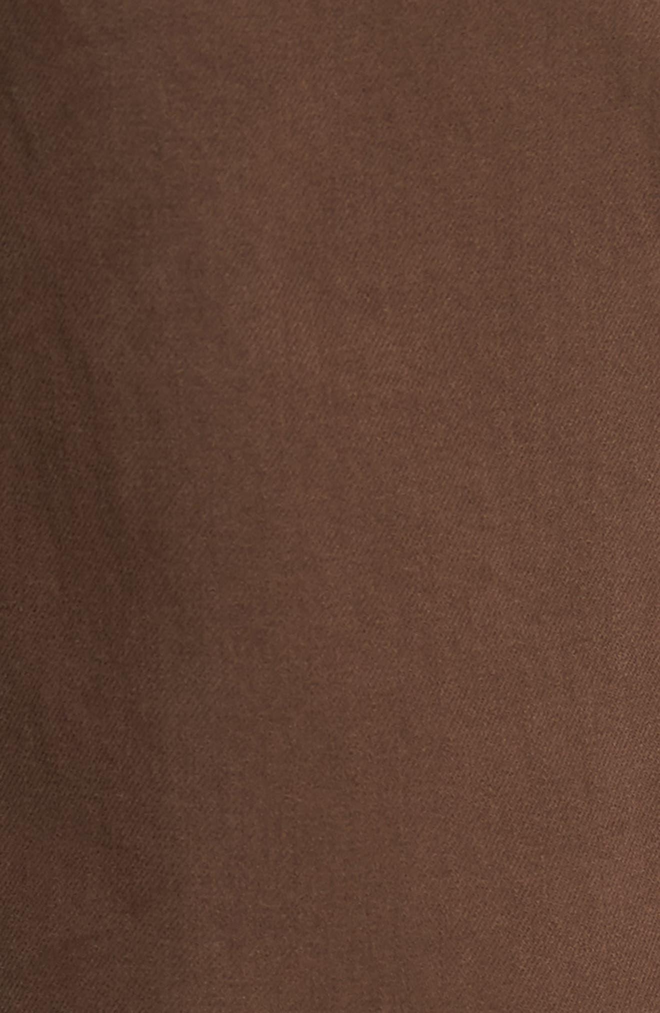 Alternate Image 5  - Joe's Brixton Slim Straight Fit Jeans (Dark Walnut)