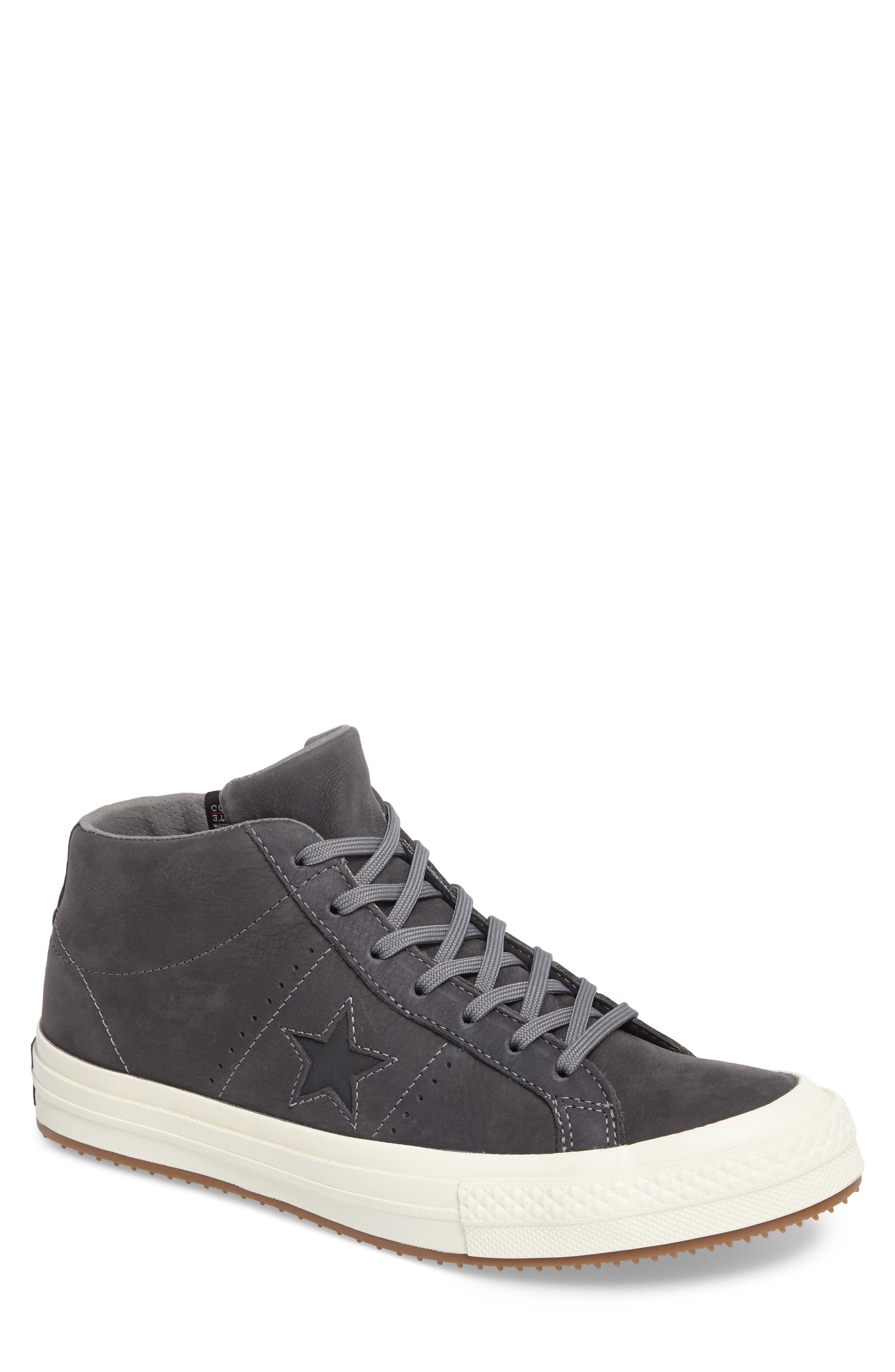 Alternate Image 1 Selected - Converse One Star Mid Sneaker (Men)