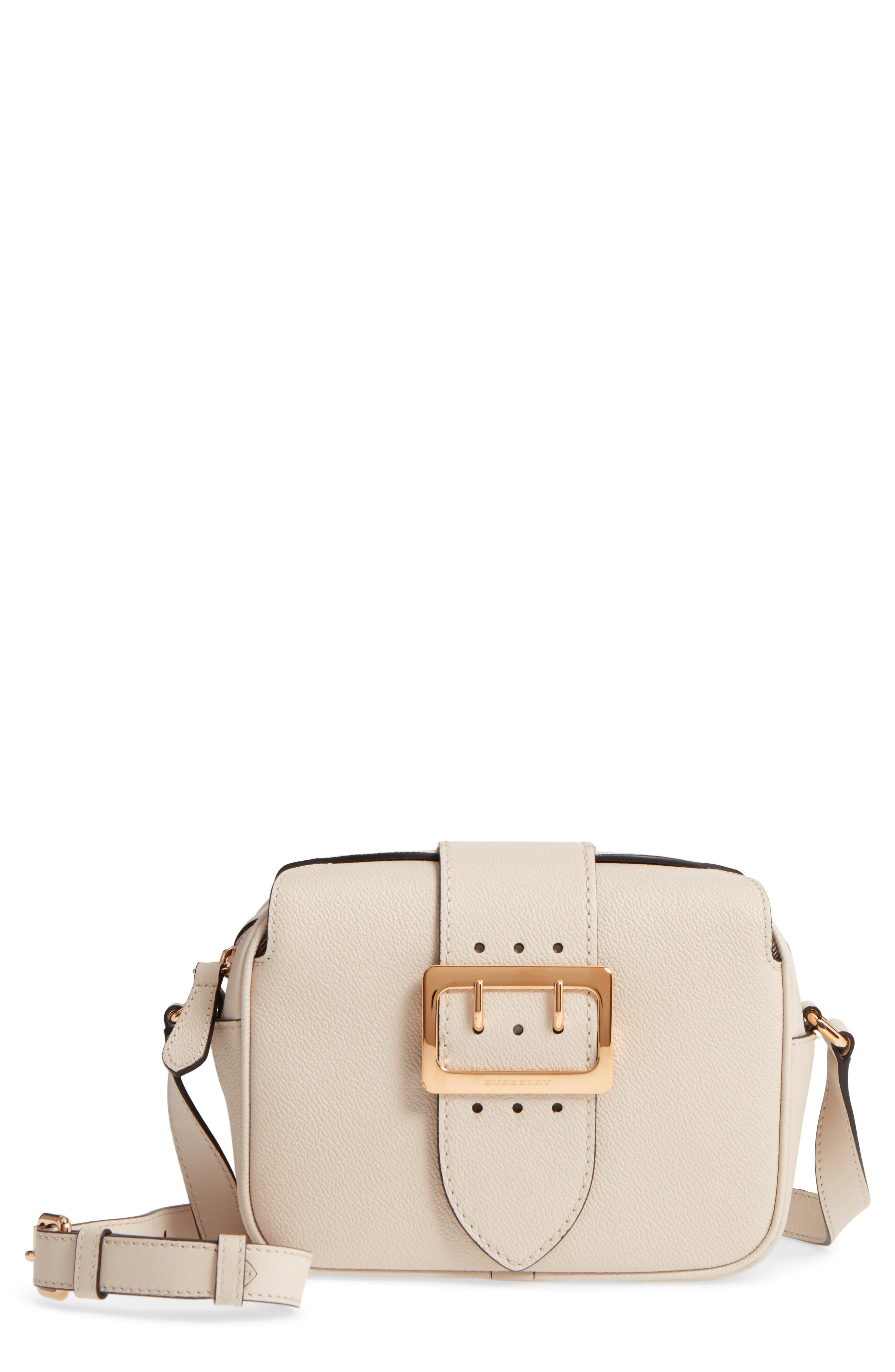 Main Image - Burberry Small Buckle Leather Crossbody Bag