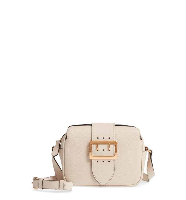 Main Image - Burberry Small Buckle Leather Crossbody Bag