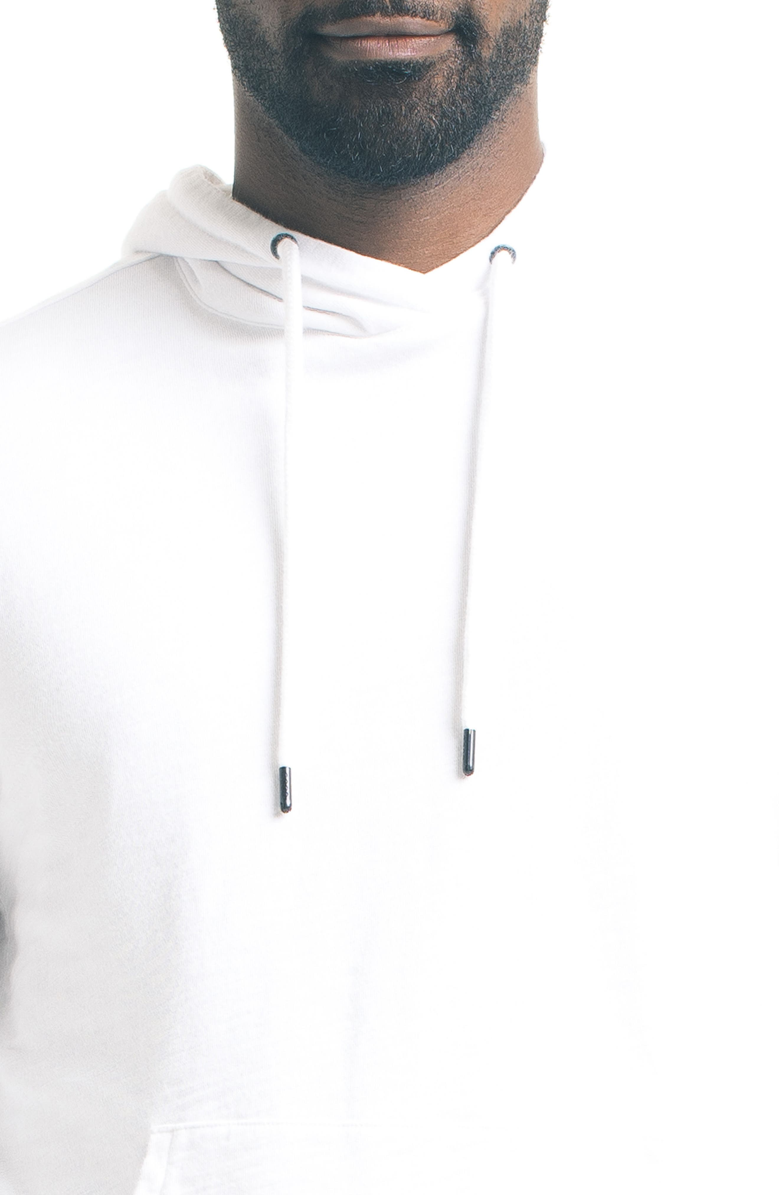 Slim Pro Hoodie,                             Alternate thumbnail 4, color,                             White