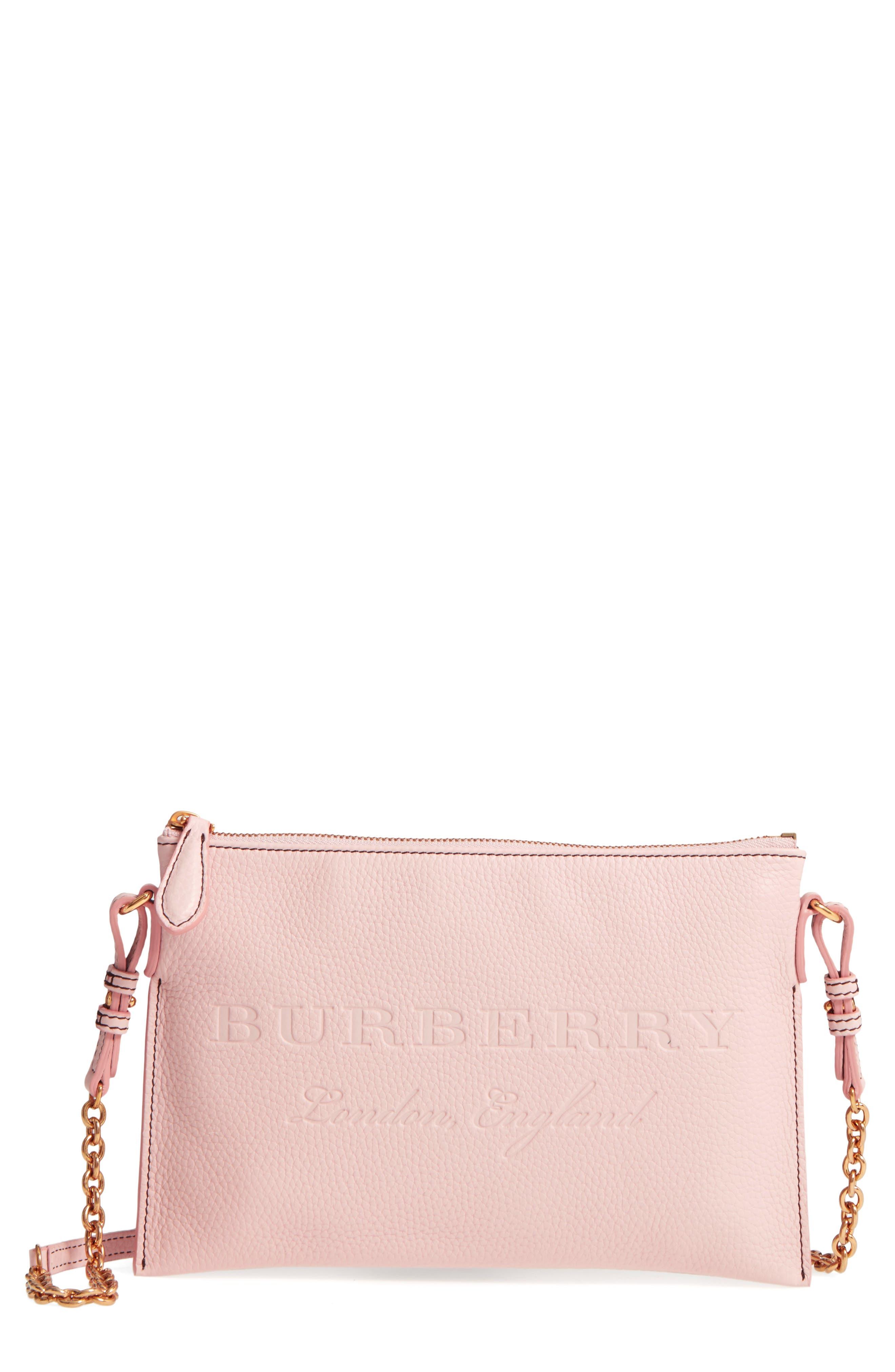 Burberry Peyton Logo Crossbody Bag