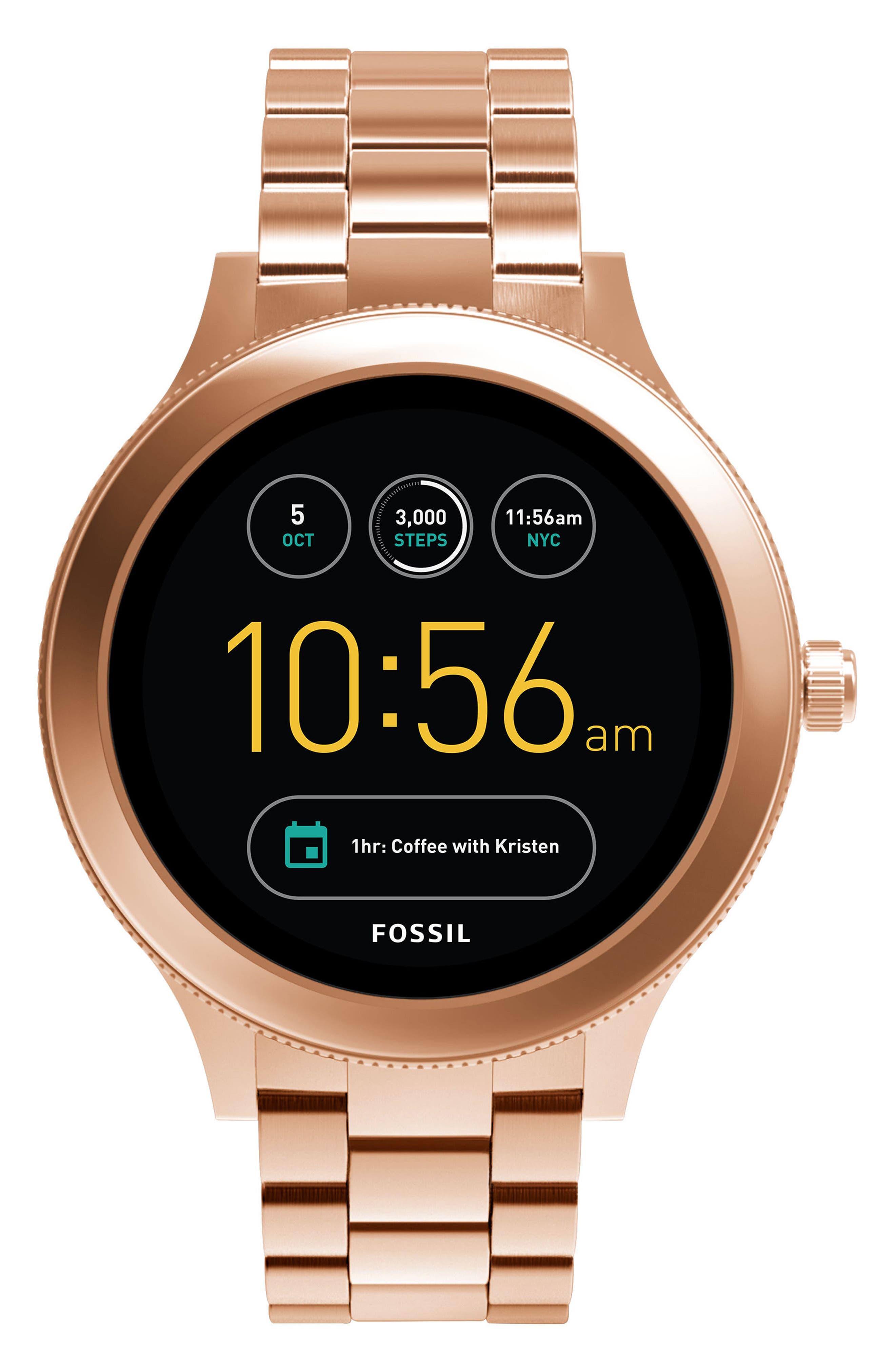 Fossil Q Venture Gen 3 Bracelet Smartwatch, 42mm