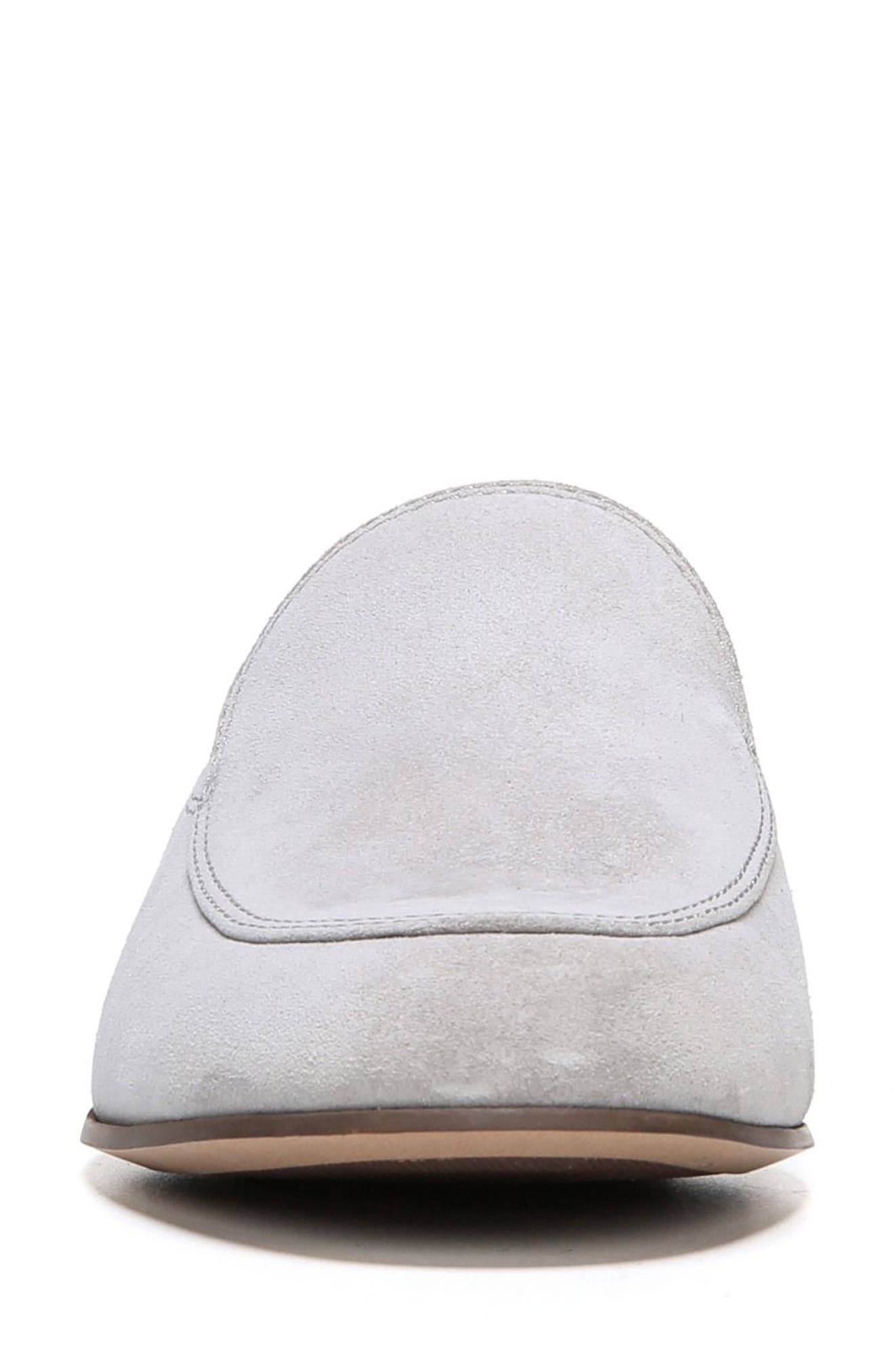 Kristen Loafer,                             Alternate thumbnail 4, color,                             Vapor Grey Suede