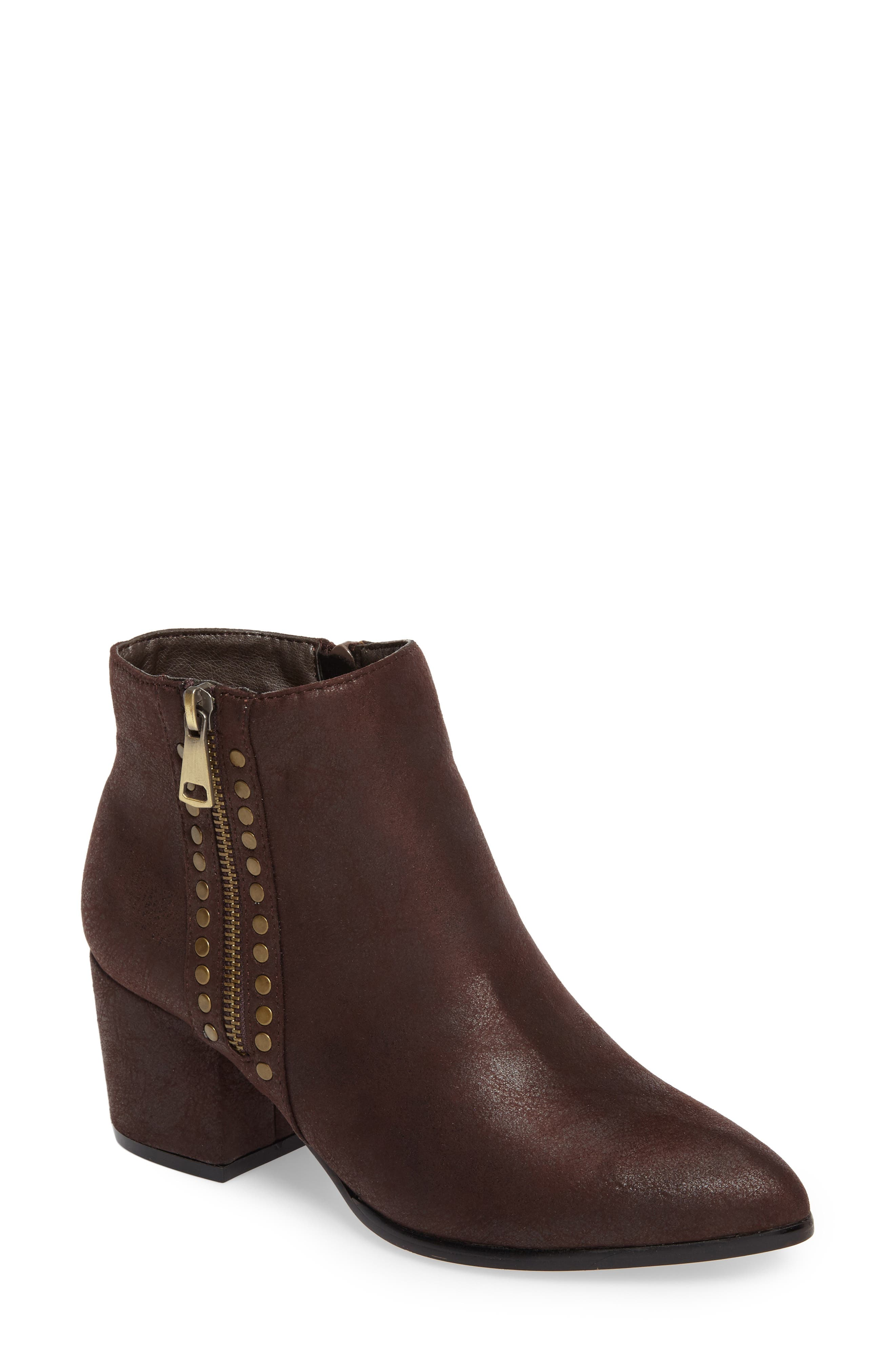 Rhythm Bootie,                             Main thumbnail 1, color,                             Brown