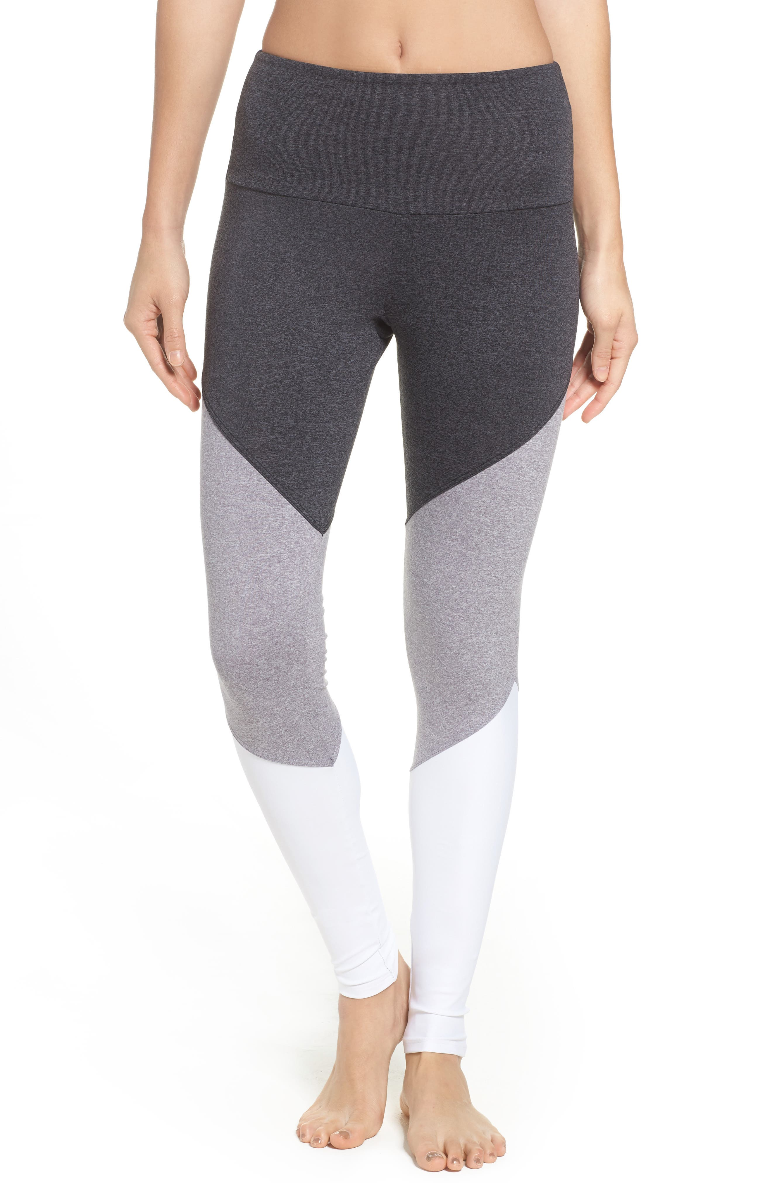 Main Image - ONZIE Track High Rise Leggings