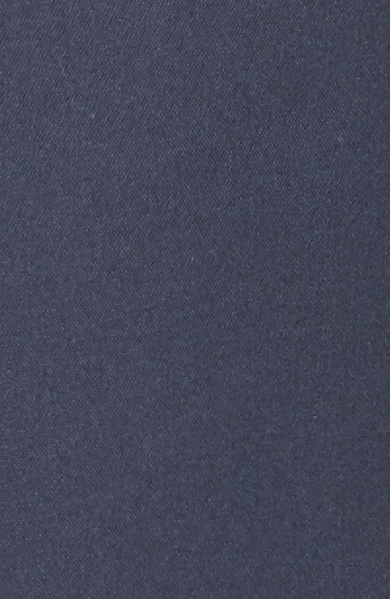 Cotton & Silk Sailor Pants,                             Alternate thumbnail 6, color,                             Navy