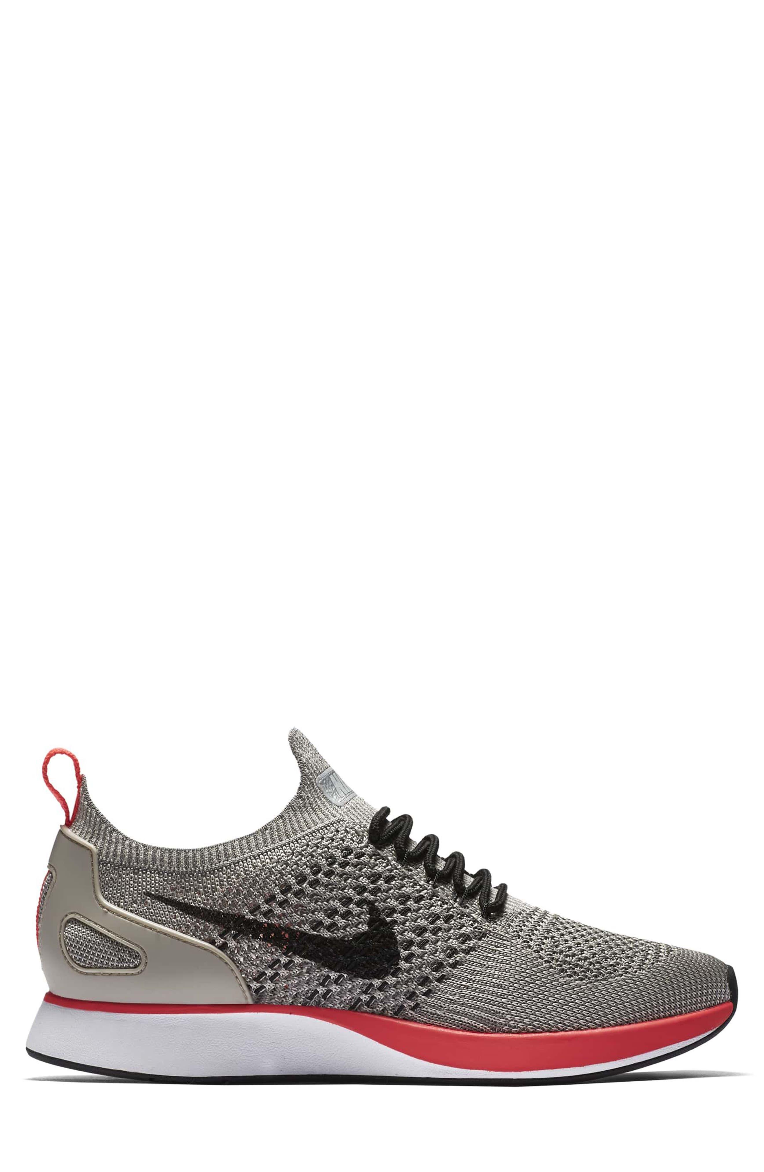 Air Zoom Mariah Flyknit Racer Sneaker,                             Alternate thumbnail 2, color,                             String/ Black/ White