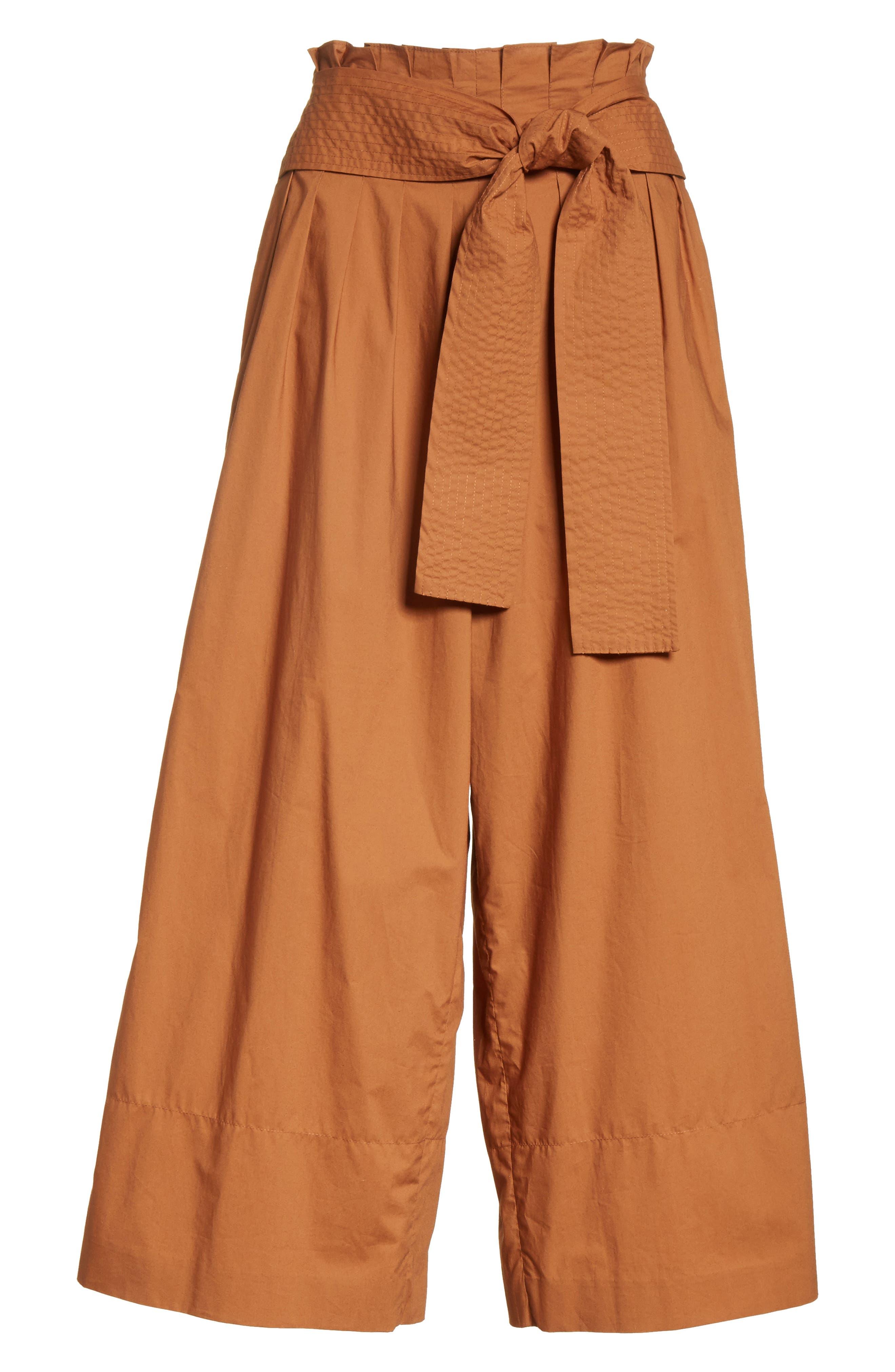 Alternate Image 6  - Rejina Pyo Wide Leg Belted Paperbag Pants