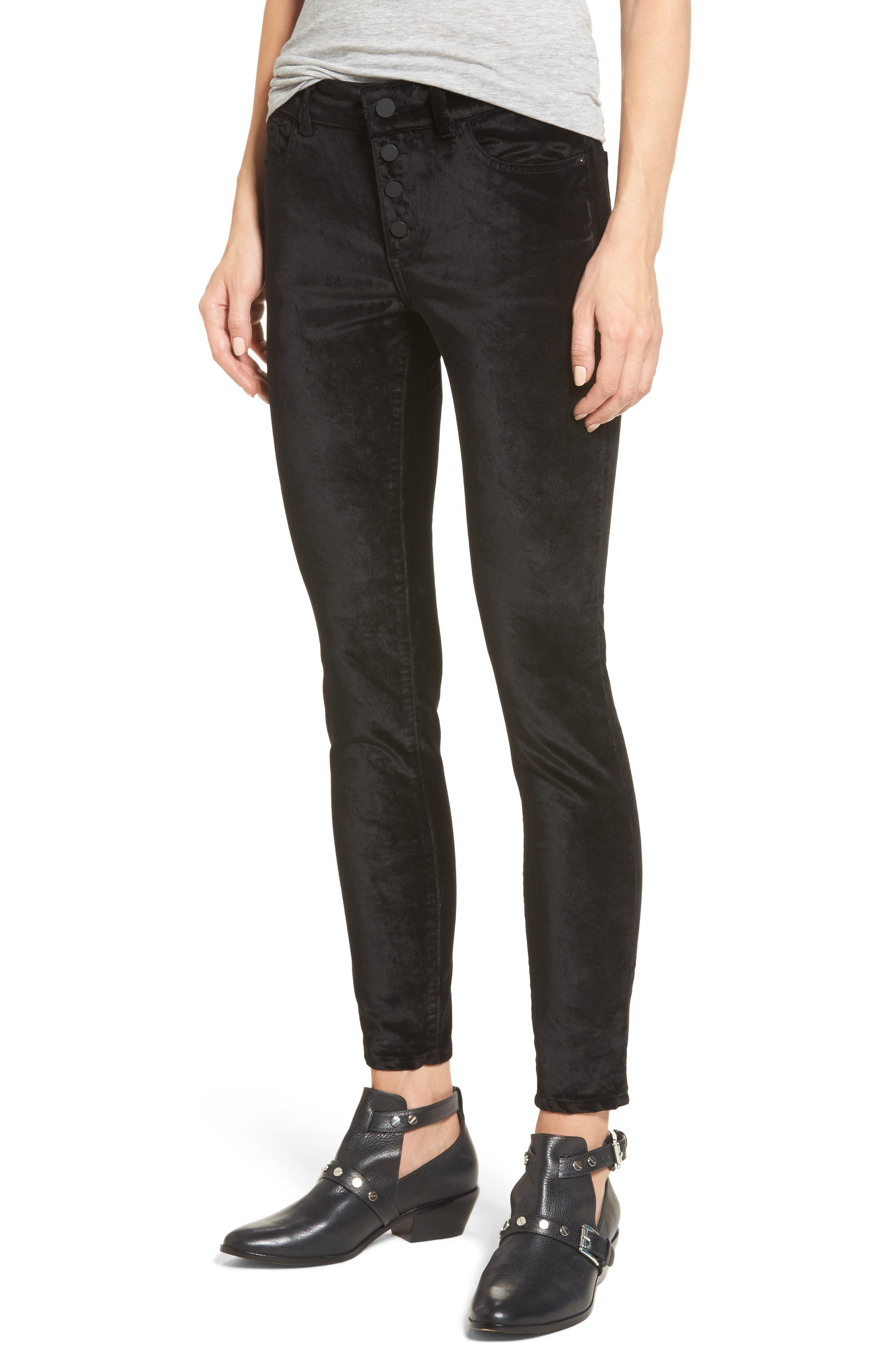 Alternate Image 1 Selected - DL1961 Emma Power Legging Jeans (Jet Black)