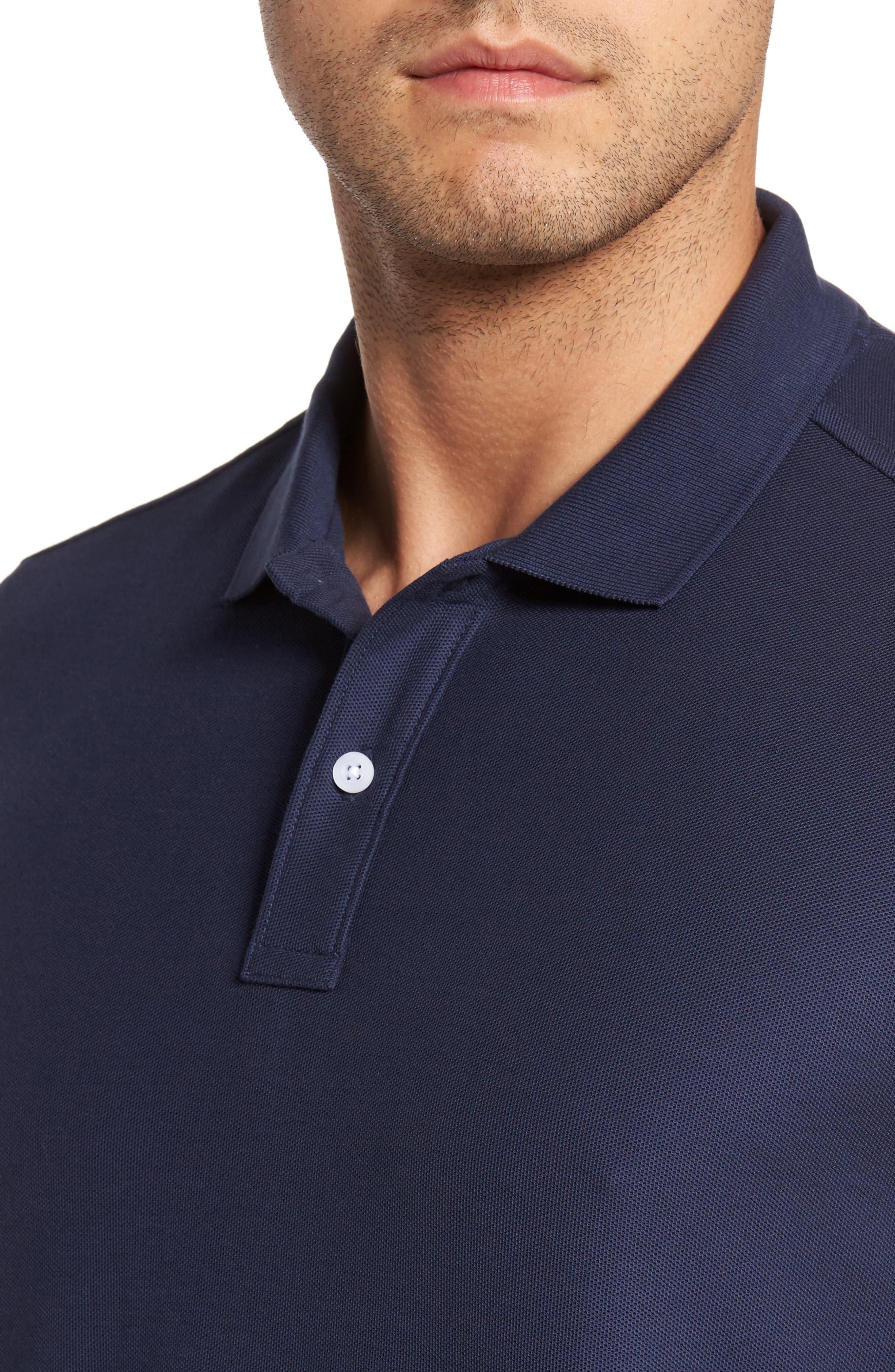 Alternate Image 4  - Nordstrom Men's Shop Piqué Polo