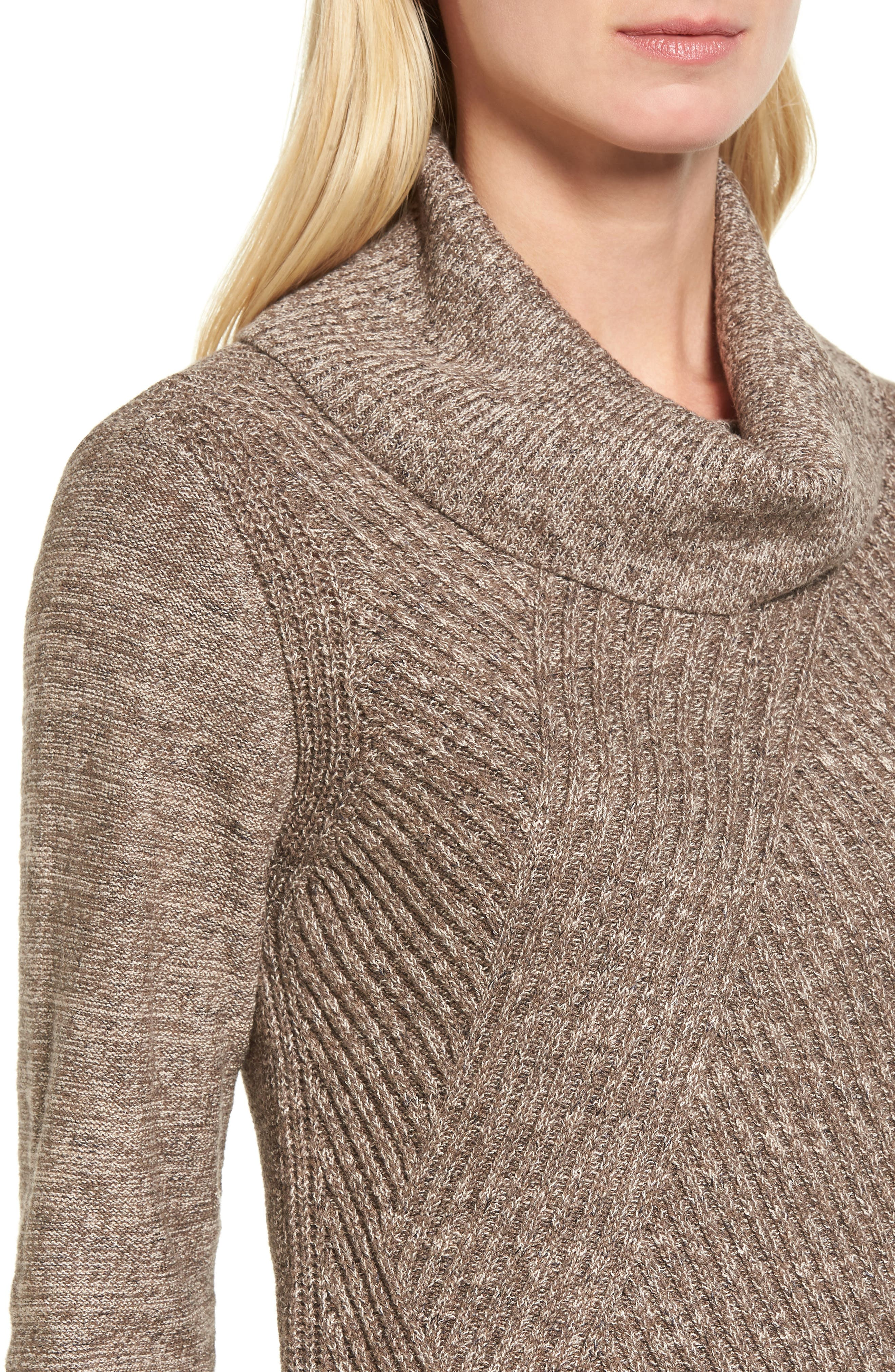North Star Turtleneck Tunic,                             Alternate thumbnail 4, color,                             Kona