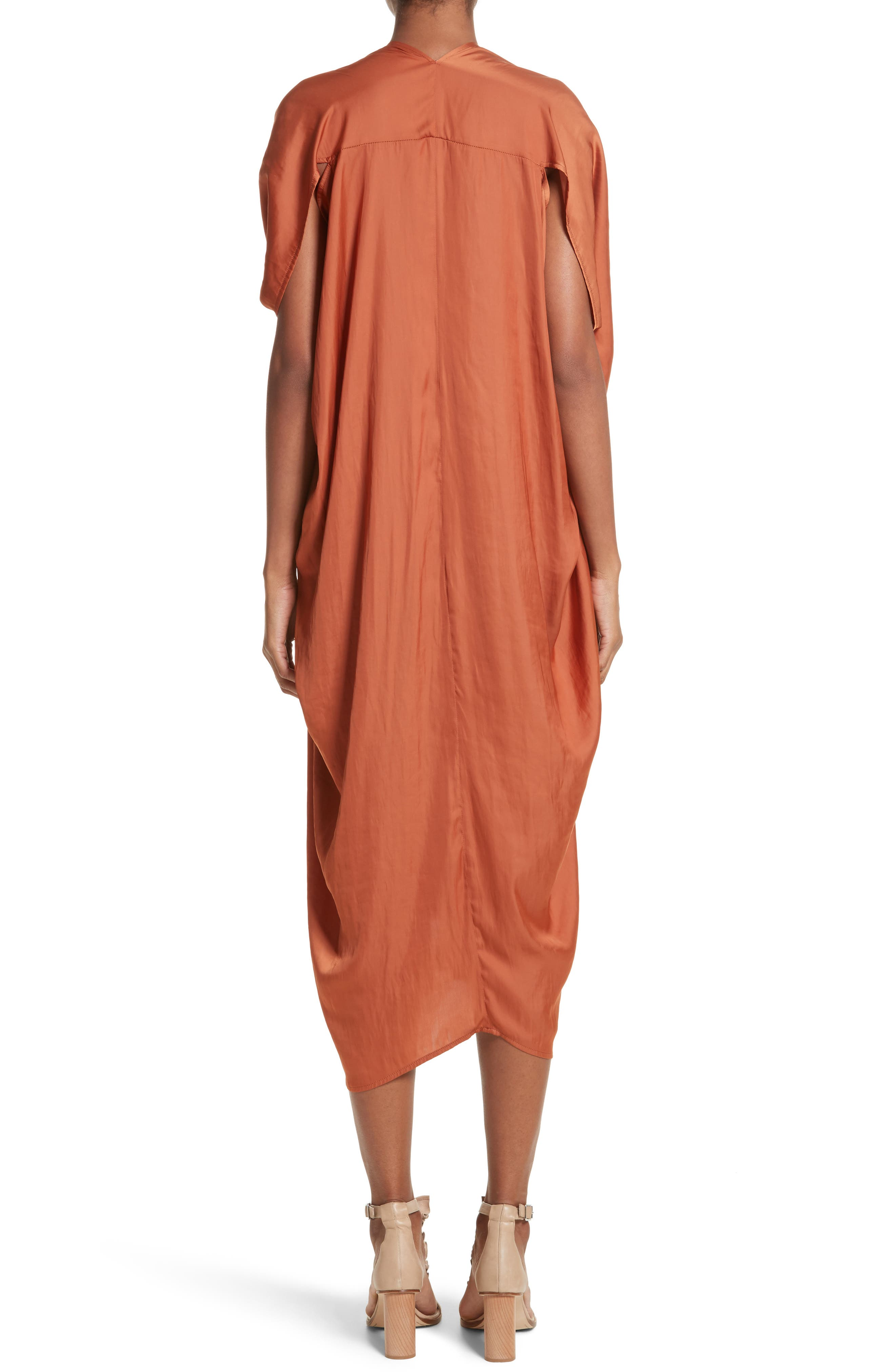 Alternate Image 2  - Zero + Maria Cornejo Drape Drift Dress