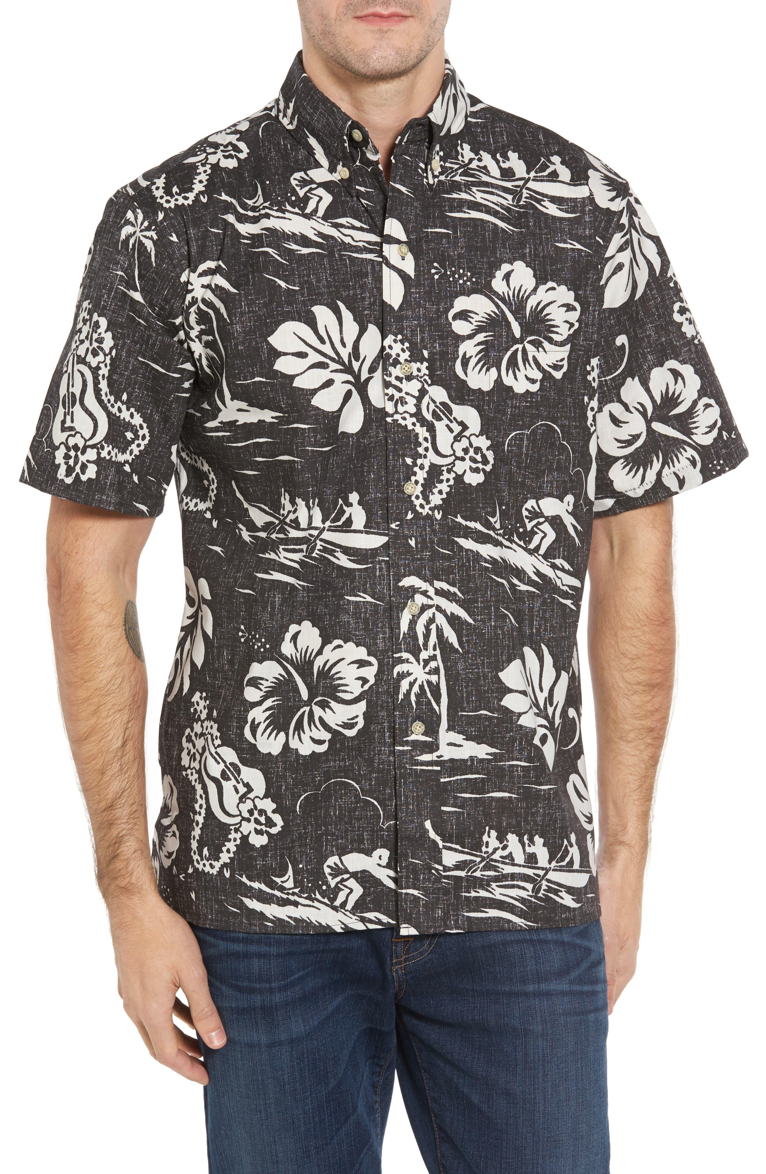 Alternate Image 1 Selected - Reyn Spooner Quiet Lagoon Classic Fit Sport Shirt