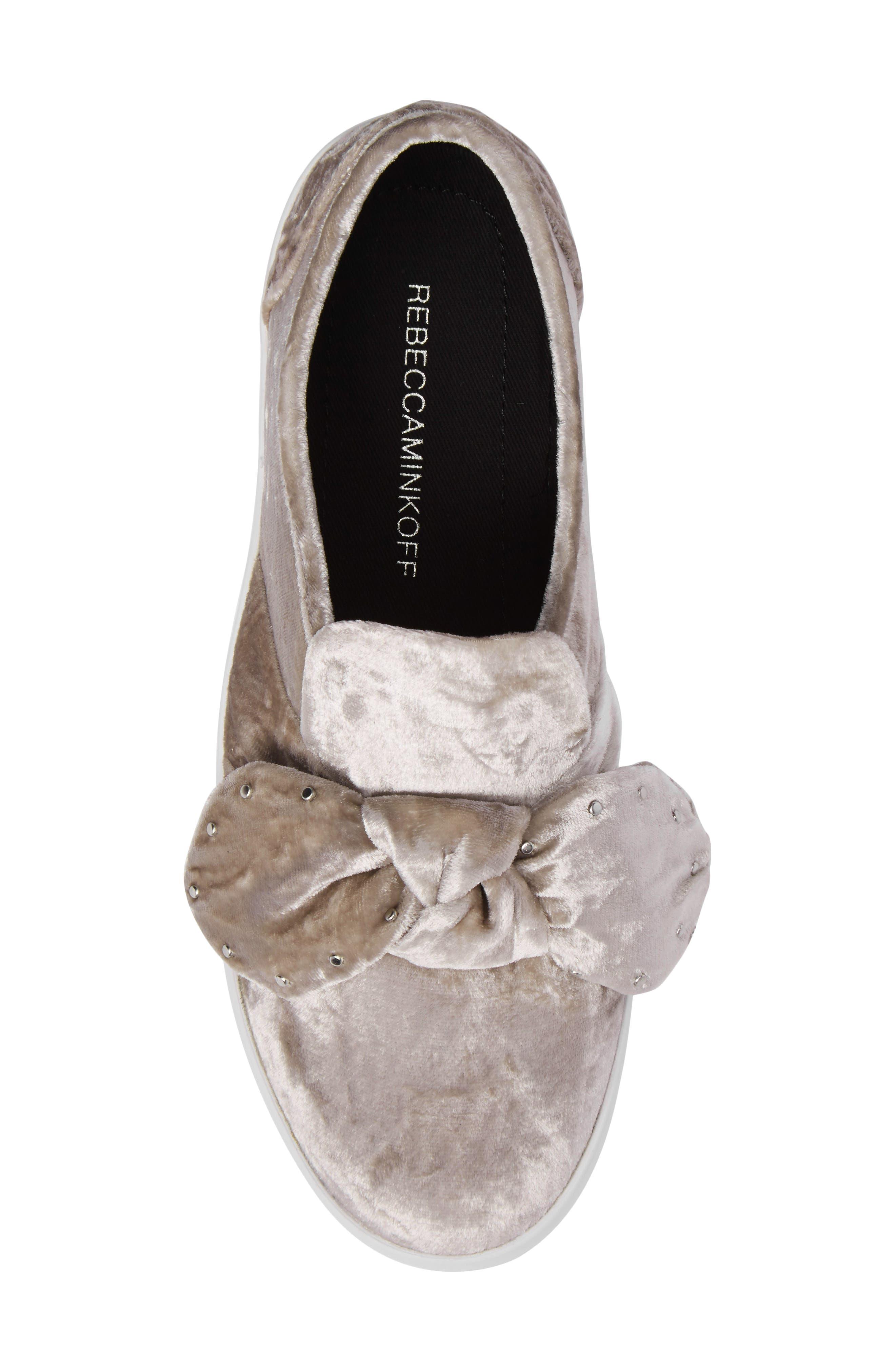 Alternate Image 5  - Rebecca Minkoff Stacey Studded Platform Slip-On (Women)