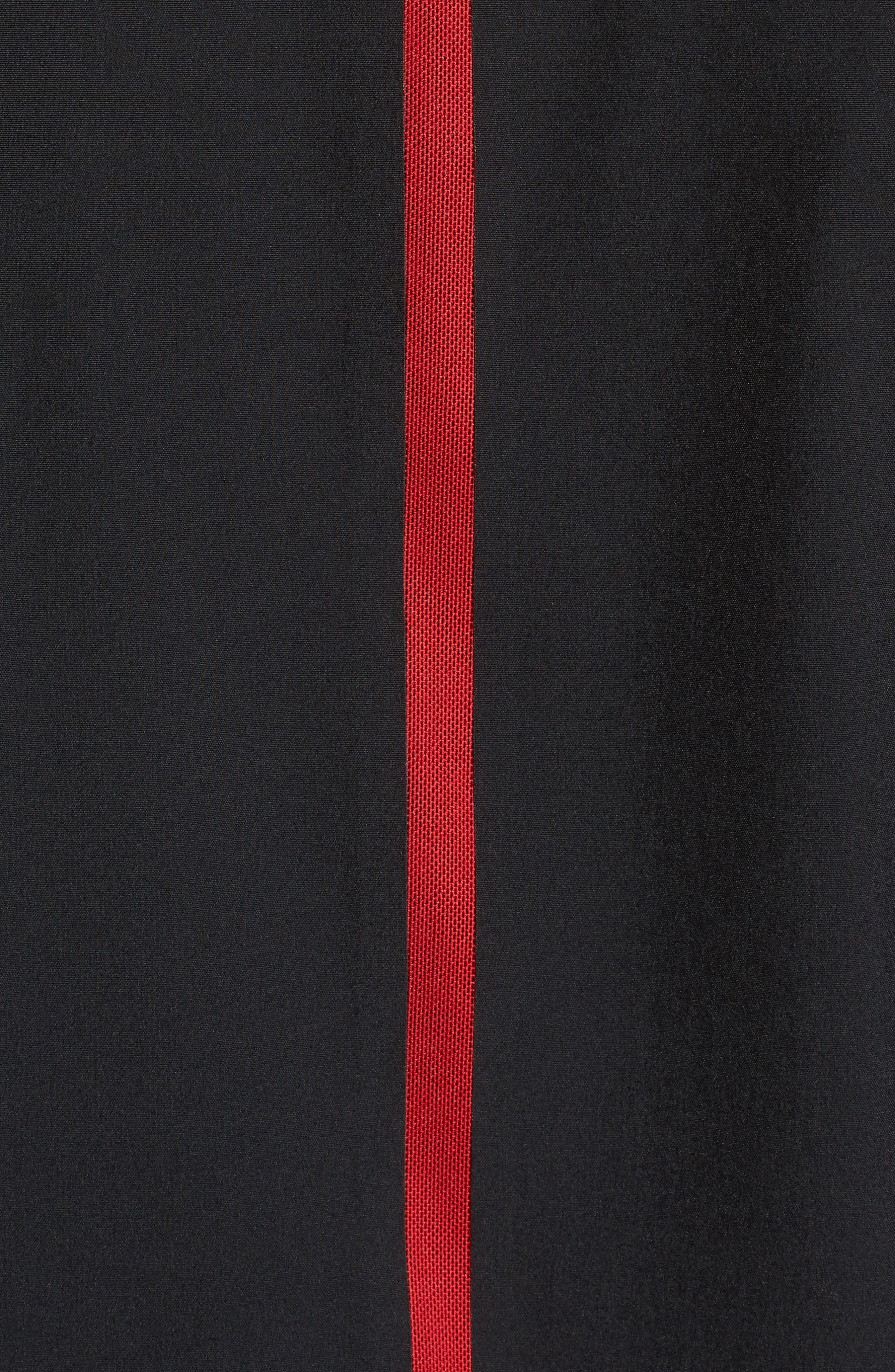 Ultimate Flight Zip Jacket,                             Alternate thumbnail 5, color,                             Black/ Gym Red
