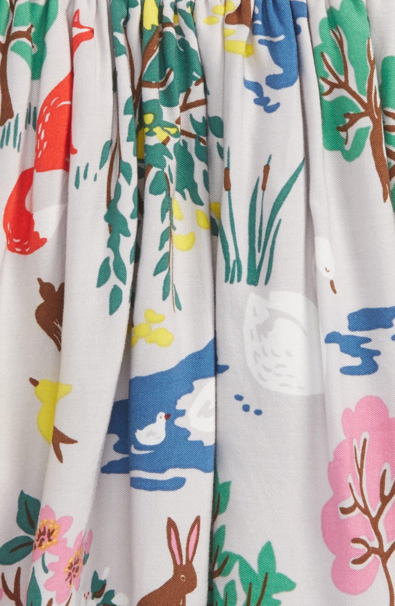 Print Twirly Skirt,                             Alternate thumbnail 2, color,                             Grey Autumn