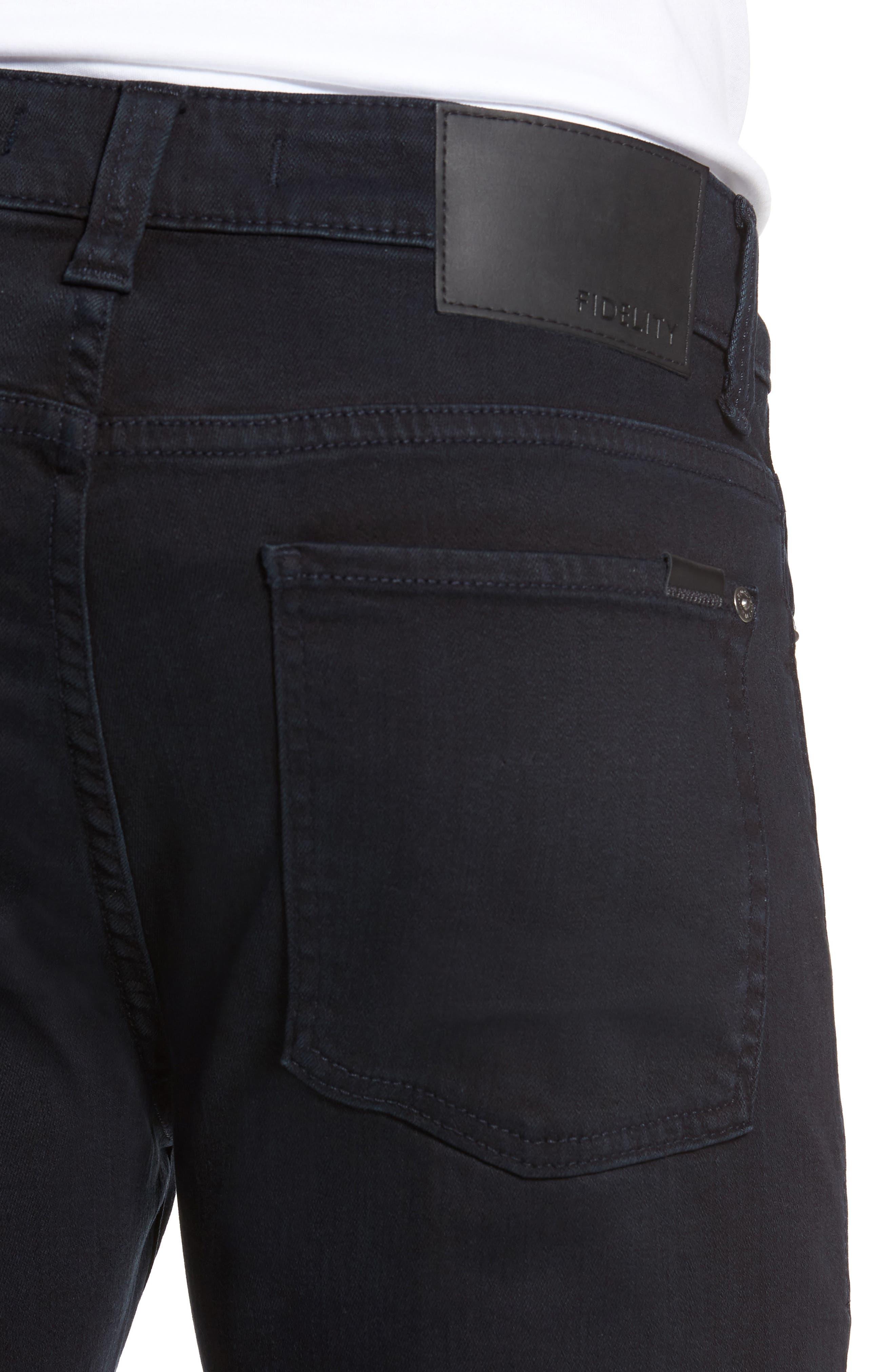 Torino Slim Fit Jeans,                             Alternate thumbnail 4, color,                             Saffire Blue