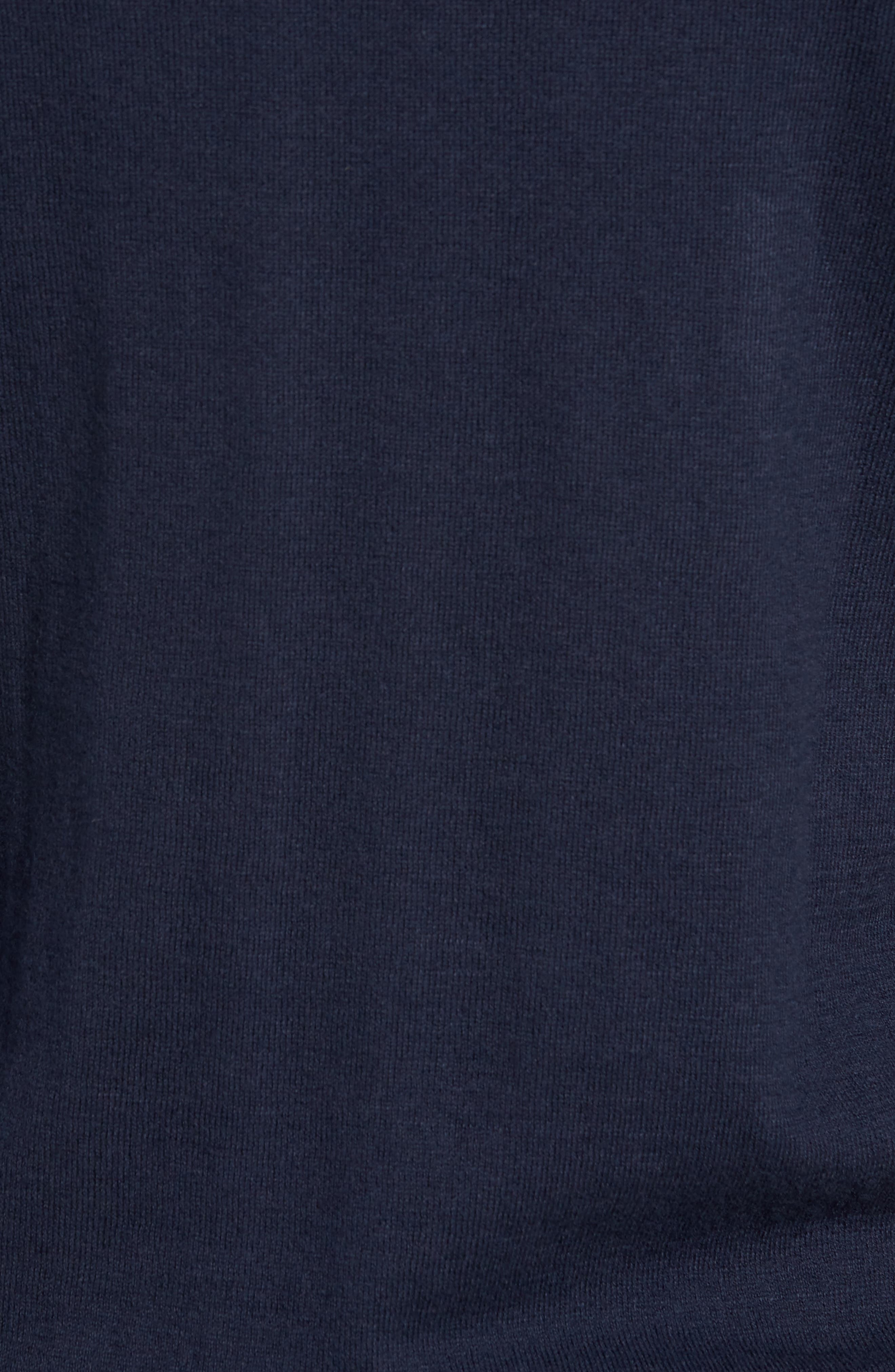 Colorblock Long Sleeve Polo,                             Alternate thumbnail 5, color,                             Navy