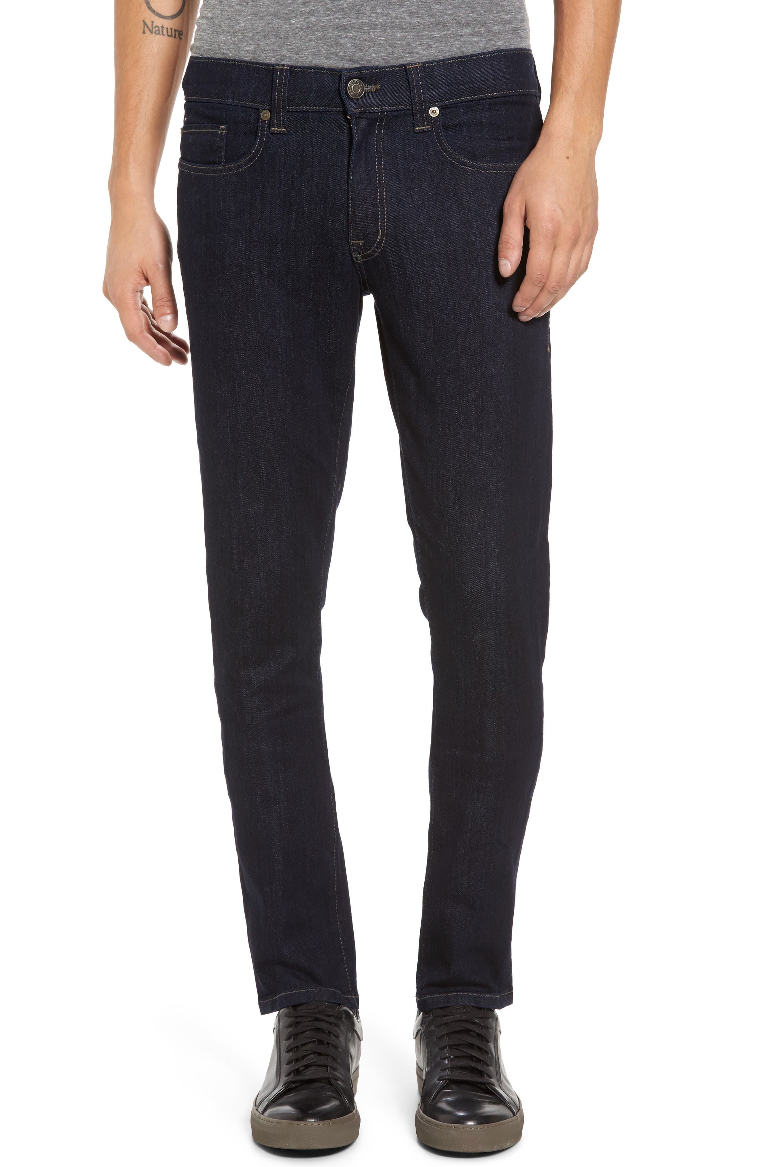 Alternate Image 1 Selected - Fidelity Denim Vantage Skinny Fit Jeans (Galaxy Rinse)