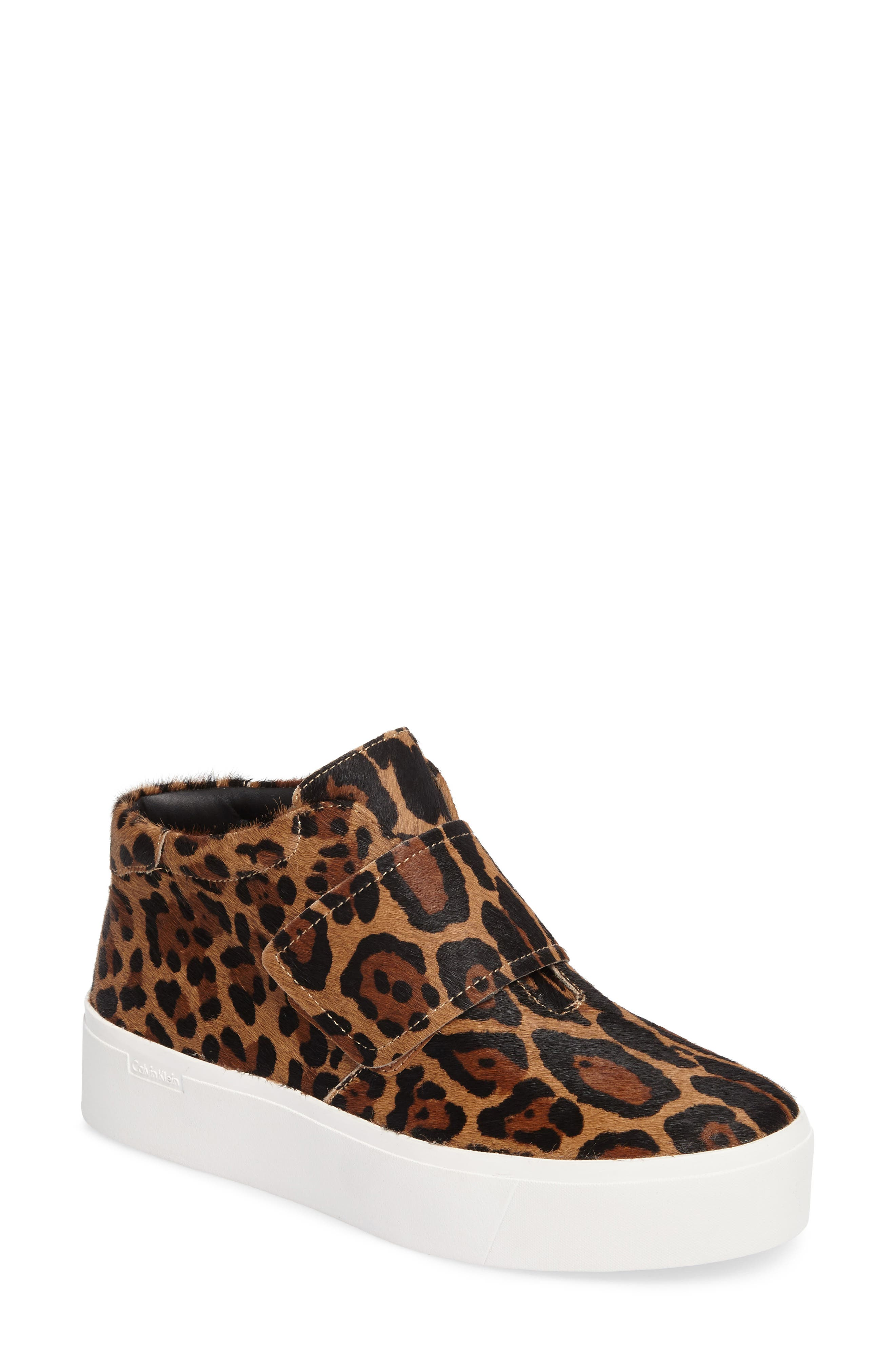Alternate Image 1 Selected - Calvin Klein Jessamine Platform Sneaker (Women)
