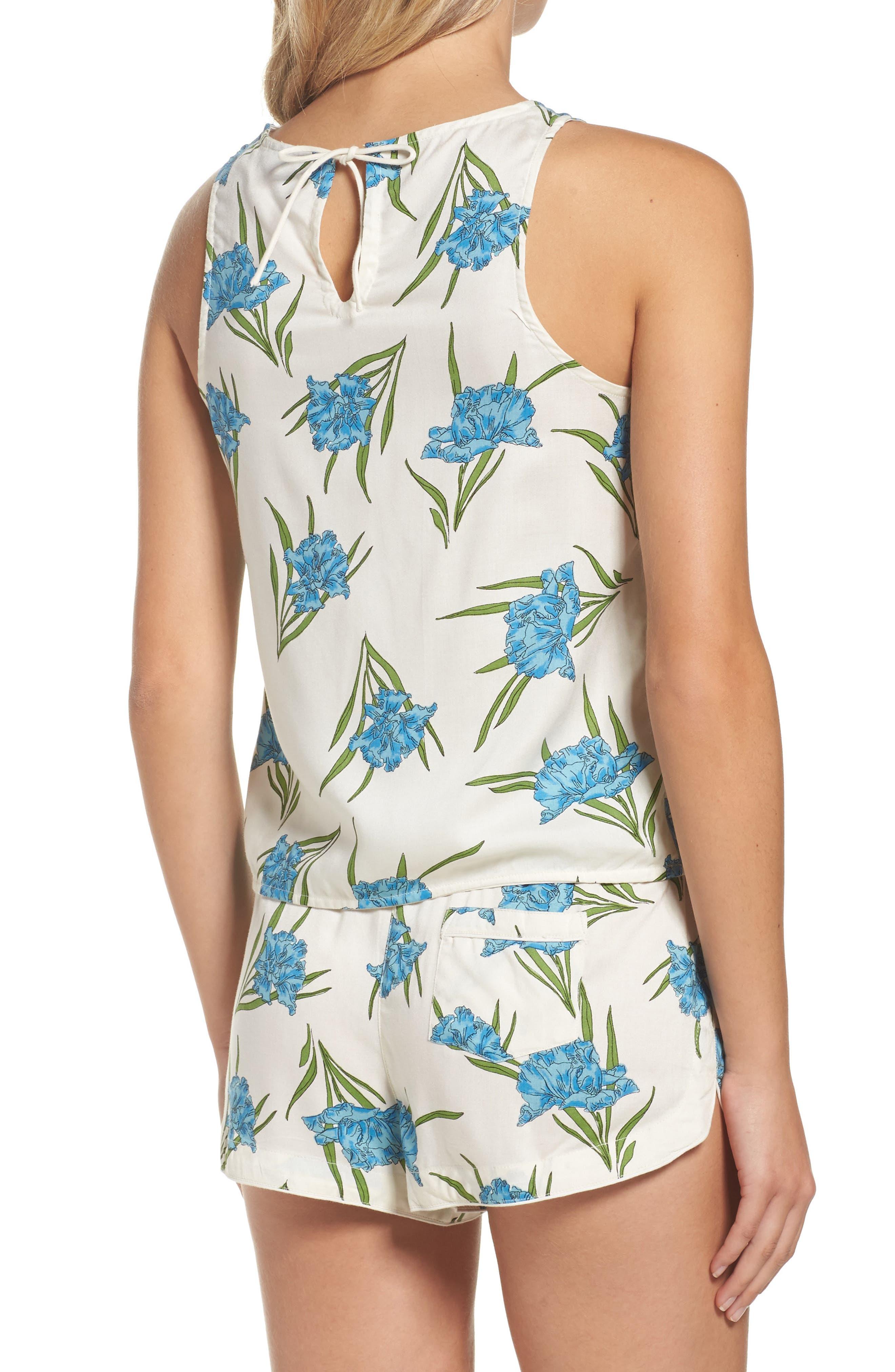 Alternate Image 2  - Topshop Botanical Short Pajamas