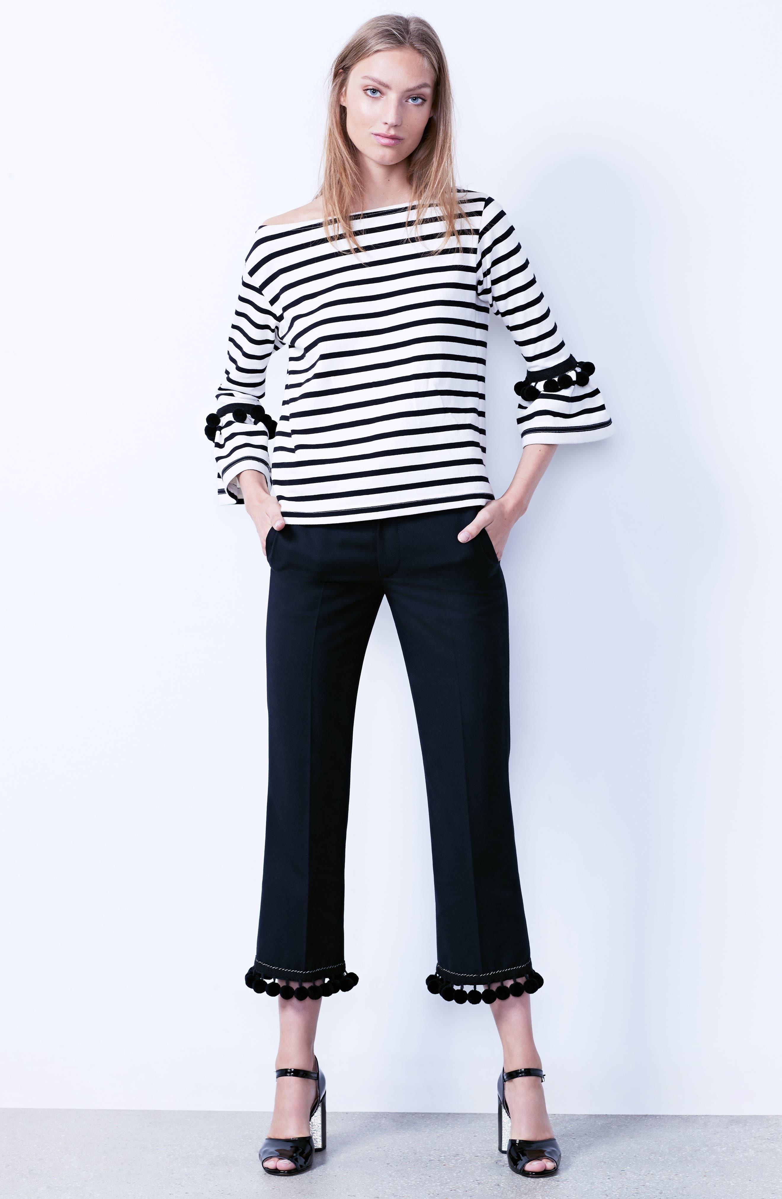 Alternate Image 10  - MARC JACOBS Pompom Hem Trousers