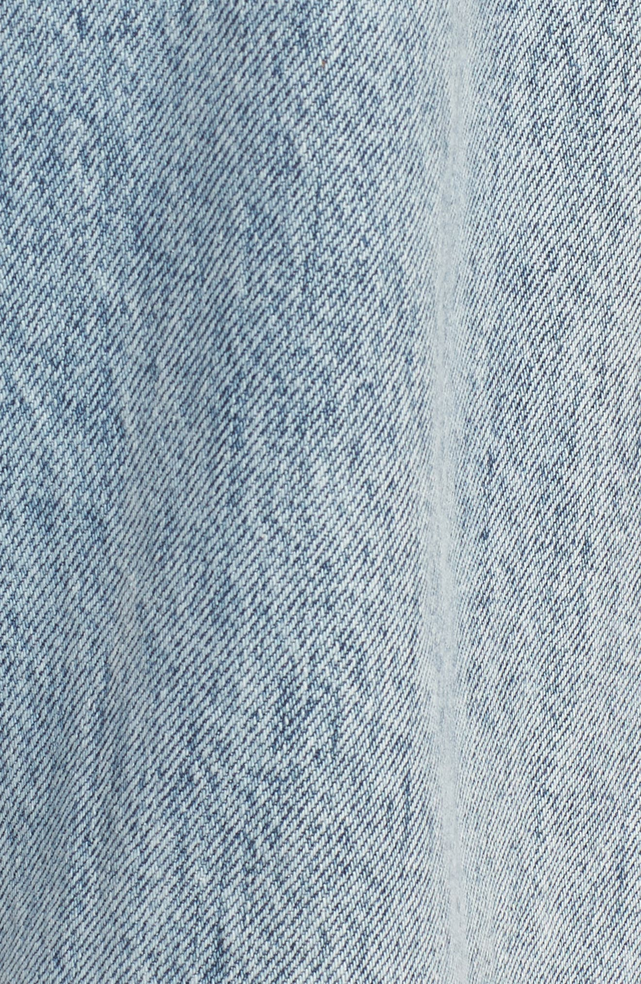 Alternate Image 6  - 7 For All Mankind® Rickie High Waist Boyfriend Jeans (Mineral Desert Springs)