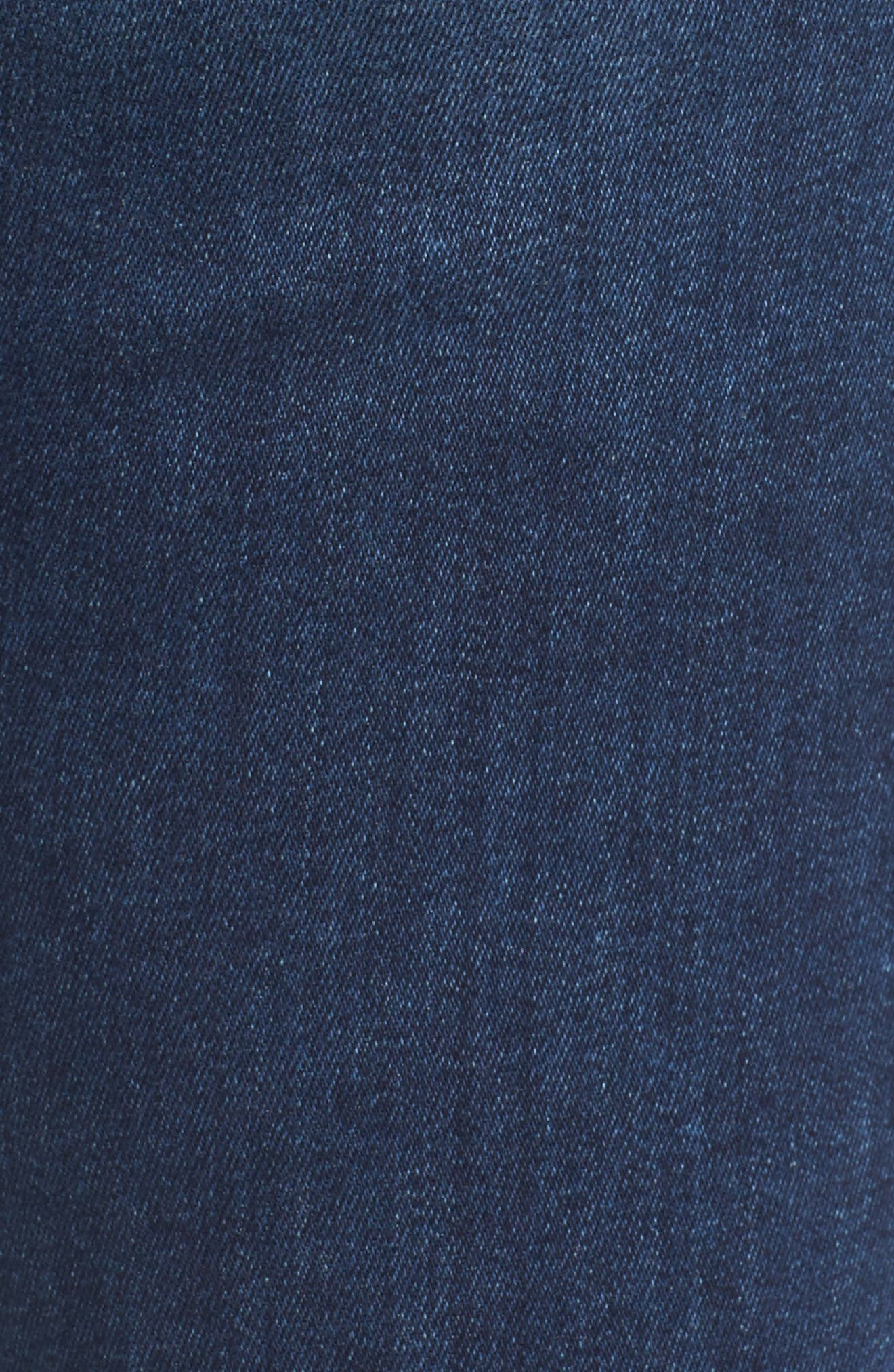 Alternate Image 5  - Fidelity Denim Belvedere Skinny Jeans (Vintage Blue)