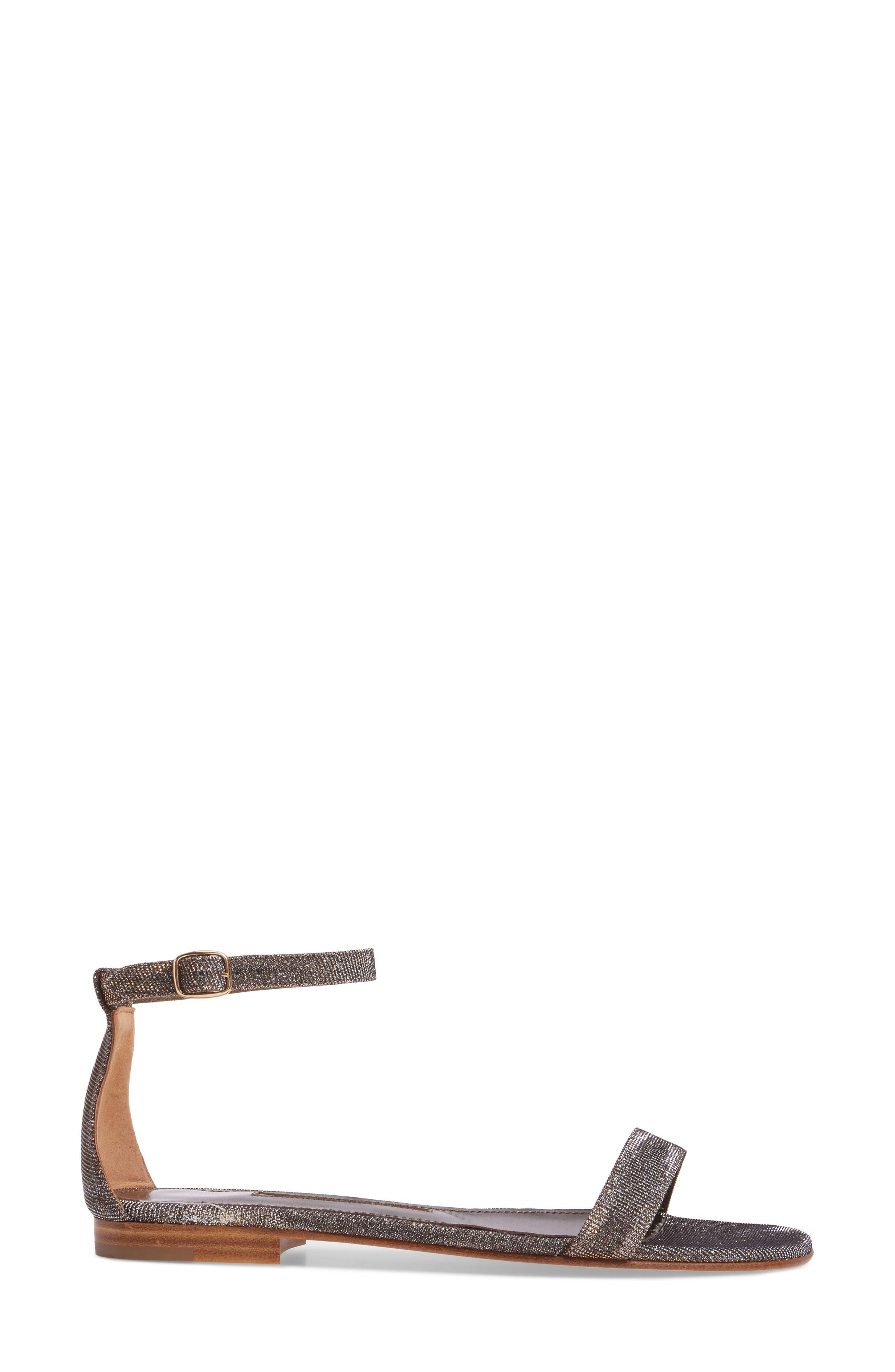Alternate Image 3  - Manolo Blahnik Chafla Ankle Strap Sandal (Women)