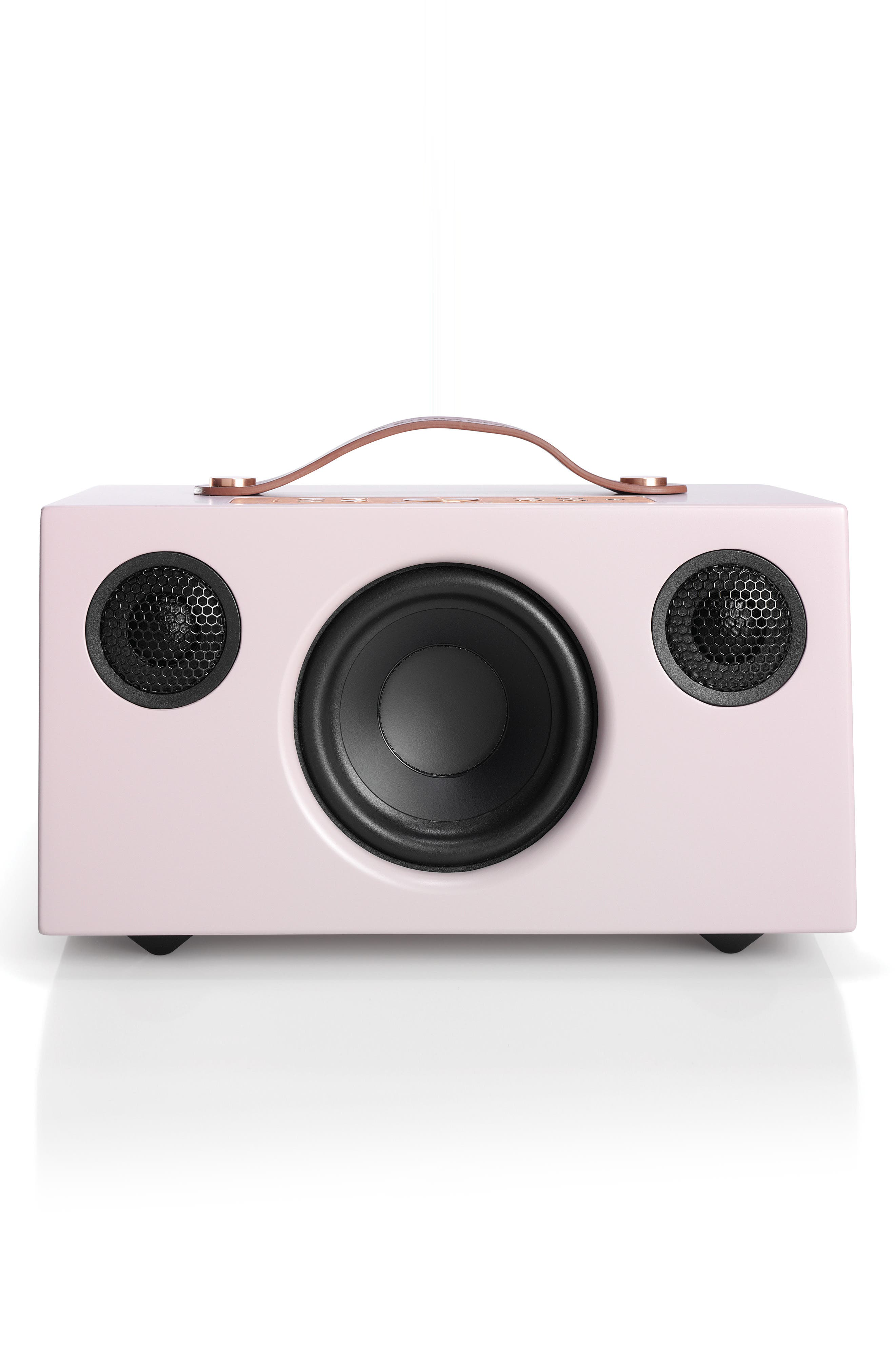 Addon C5 WiFi Multi Room Bluetooth Speaker,                             Main thumbnail 1, color,                             Dirty Pink