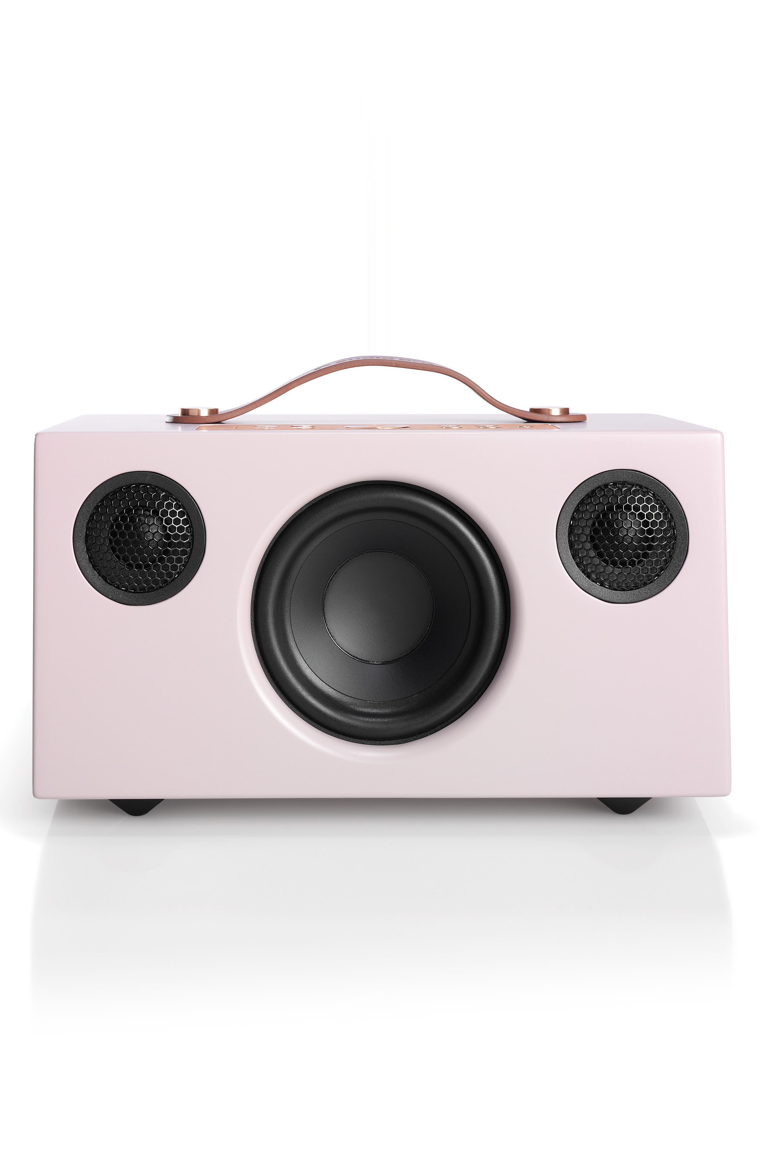 Addon C5 WiFi Multi Room Bluetooth Speaker,                         Main,                         color, Dirty Pink