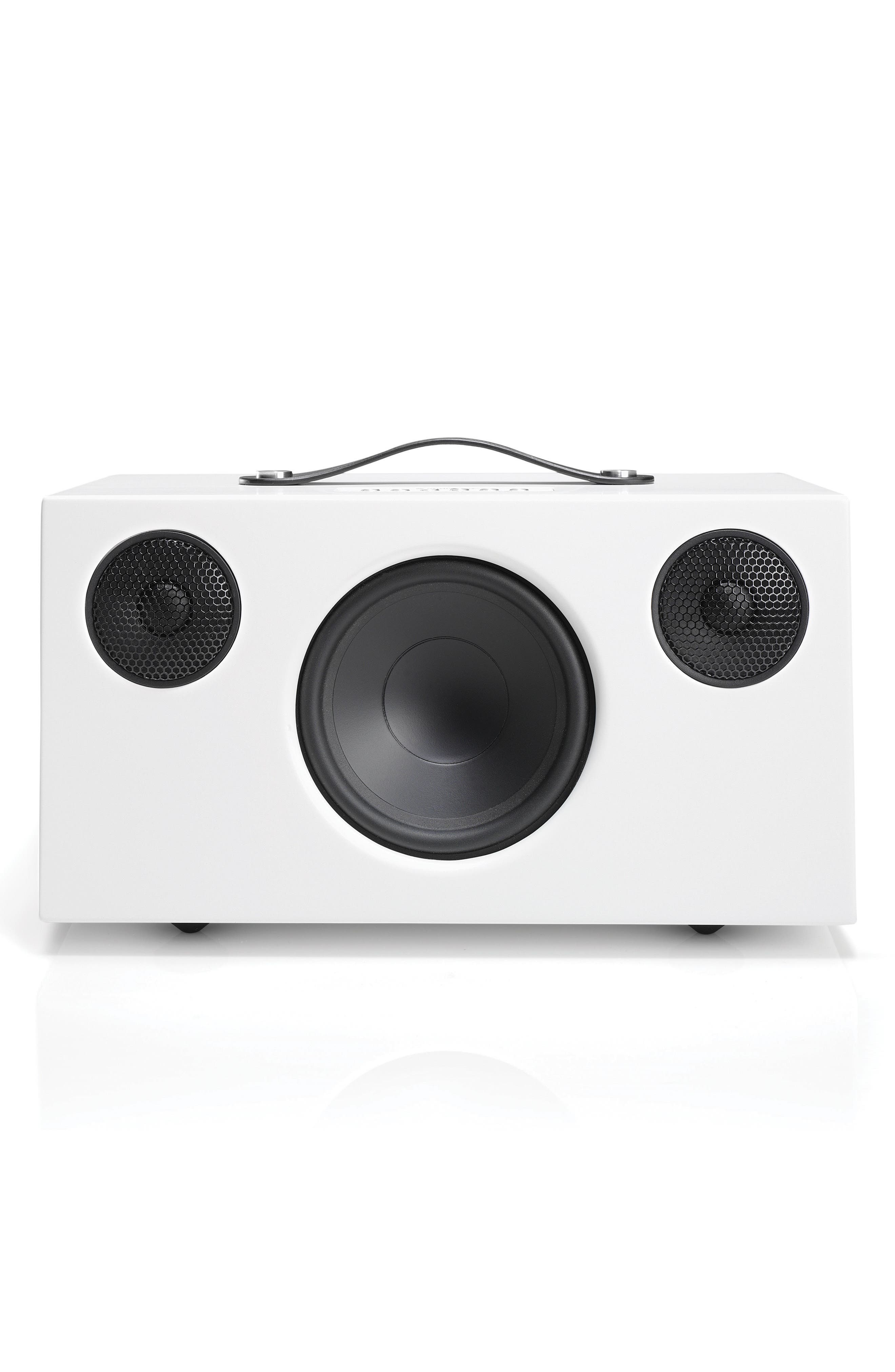 Addon T10 Wireless Bluetooth<sup>®</sup> Speaker,                             Main thumbnail 1, color,                             Arctic White
