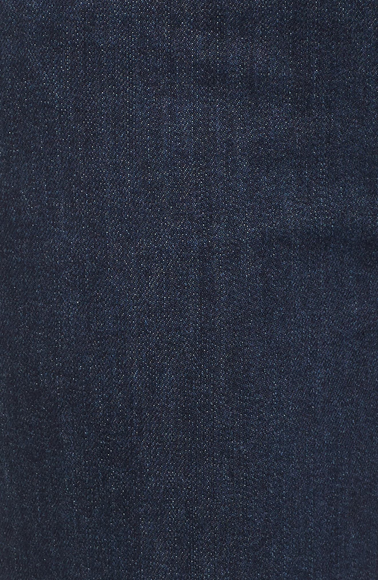 Step-Hem Straight Jeans,                             Alternate thumbnail 5, color,                             Baltic