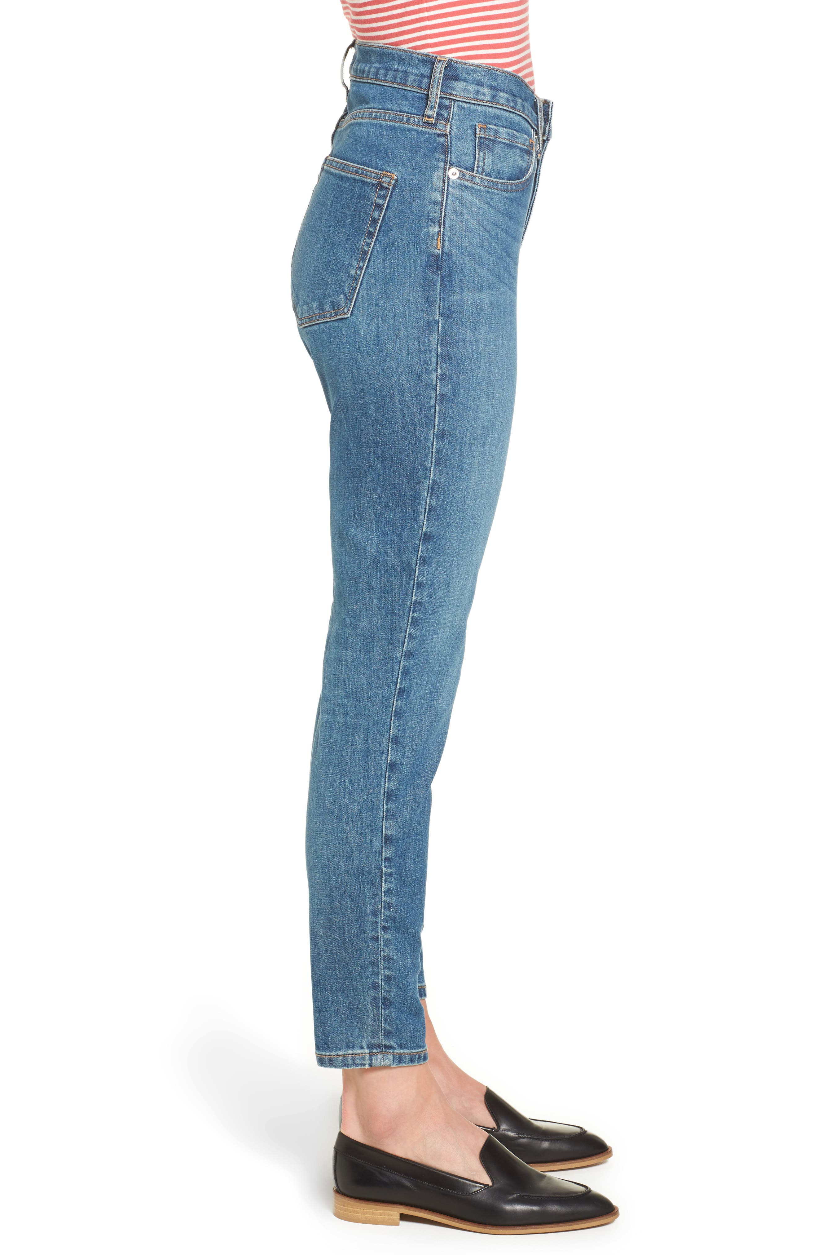 Alternate Image 3  - Everlane The High Rise Skinny Ankle Jeans